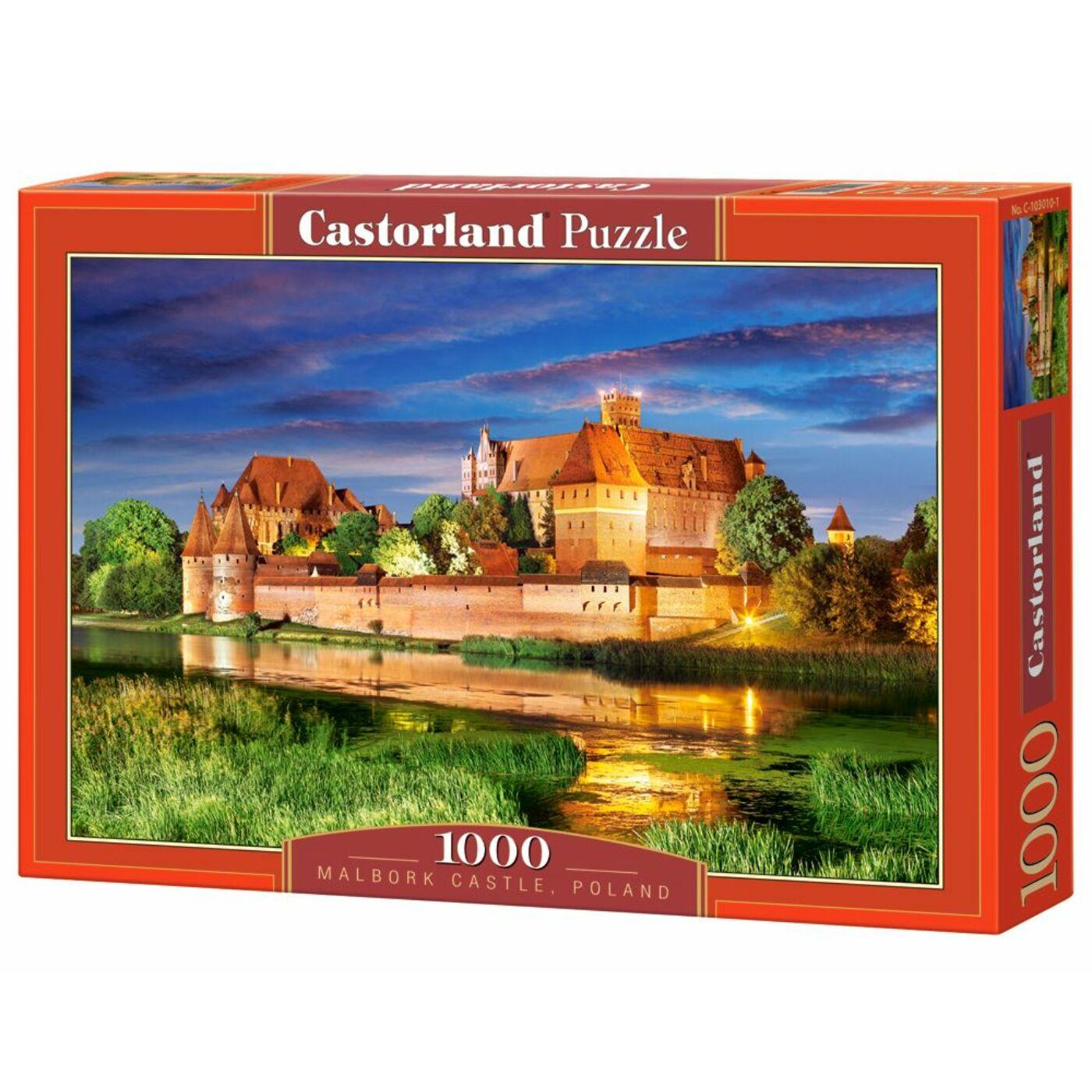 1000 db-os Castorland puzzle - Malbork Kastély, Lengyelország