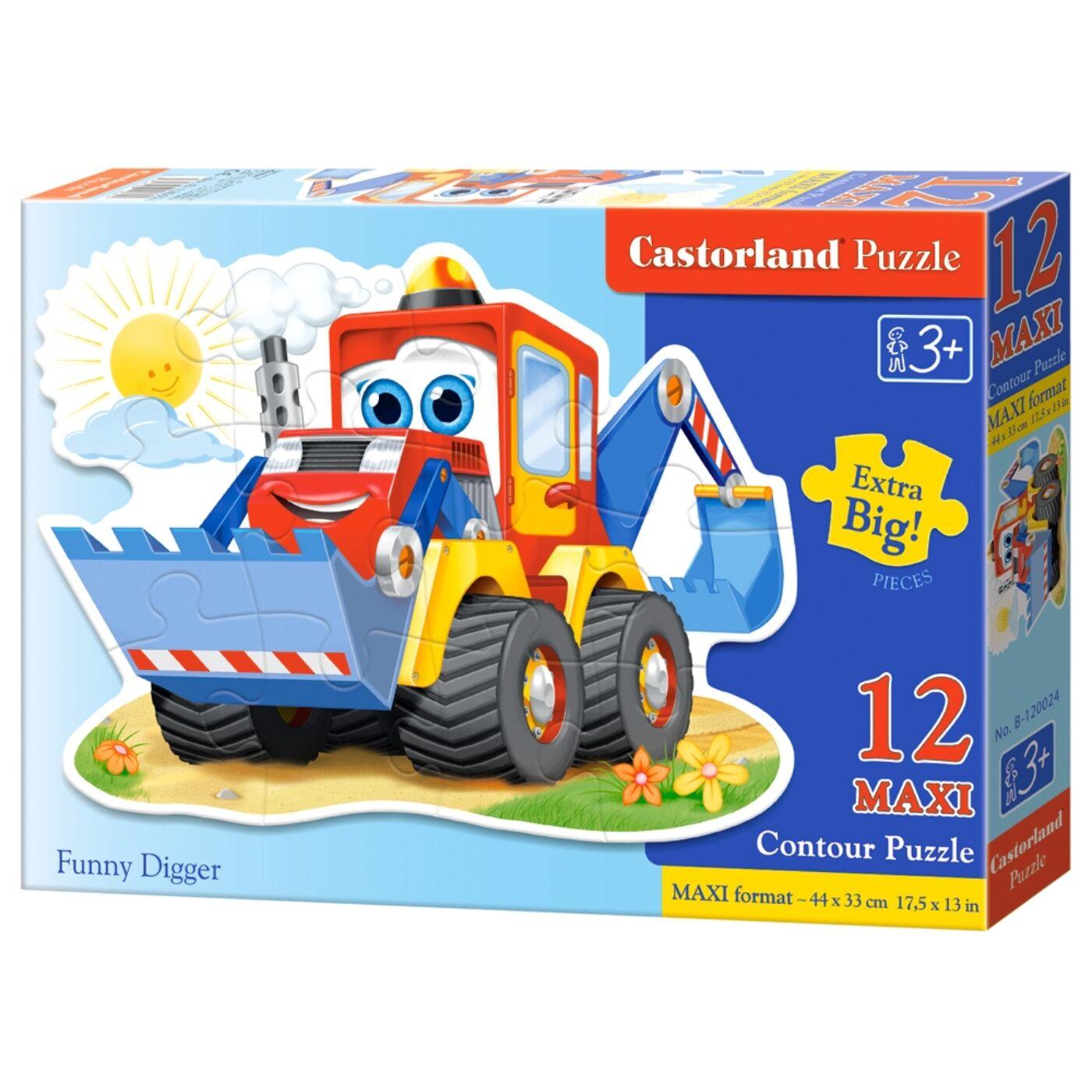 12 db-os Castorland maxi puzzle - Kubikusok