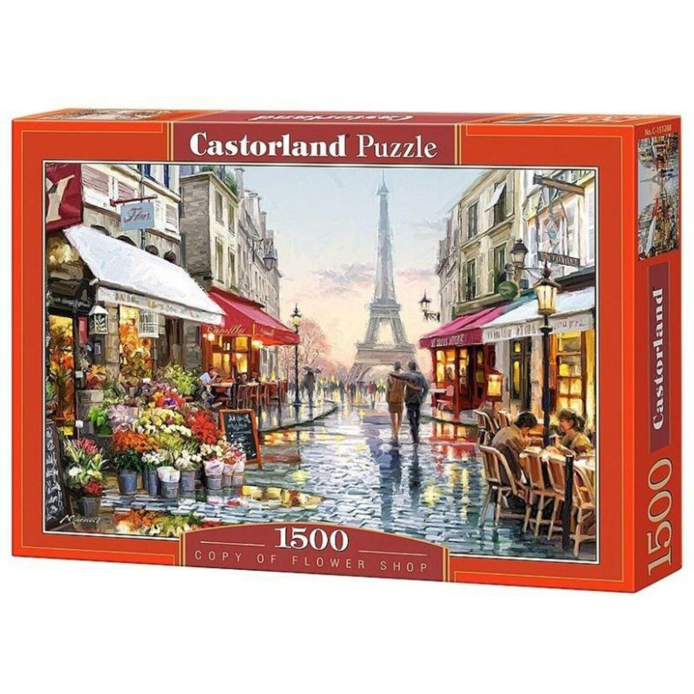 1500 db-os puzzle  - Virágbolt