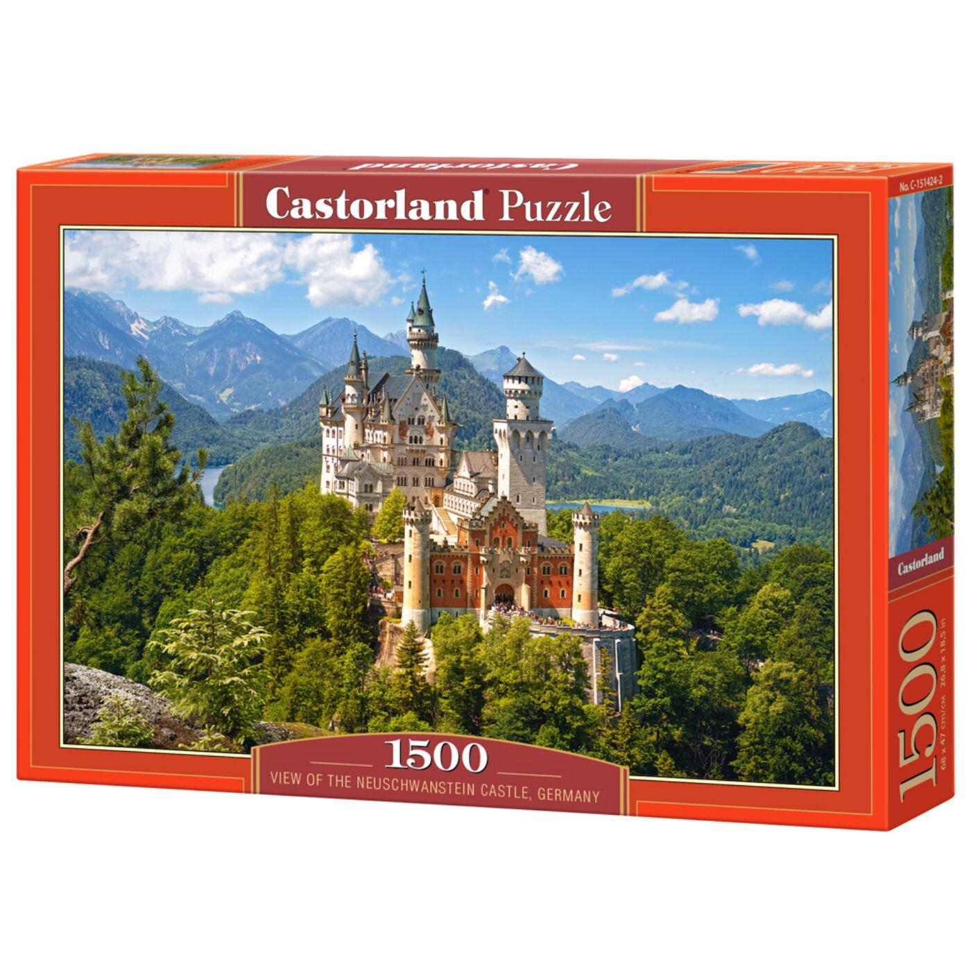 1500 db-os kirakó - Neuschwanstein, Németország