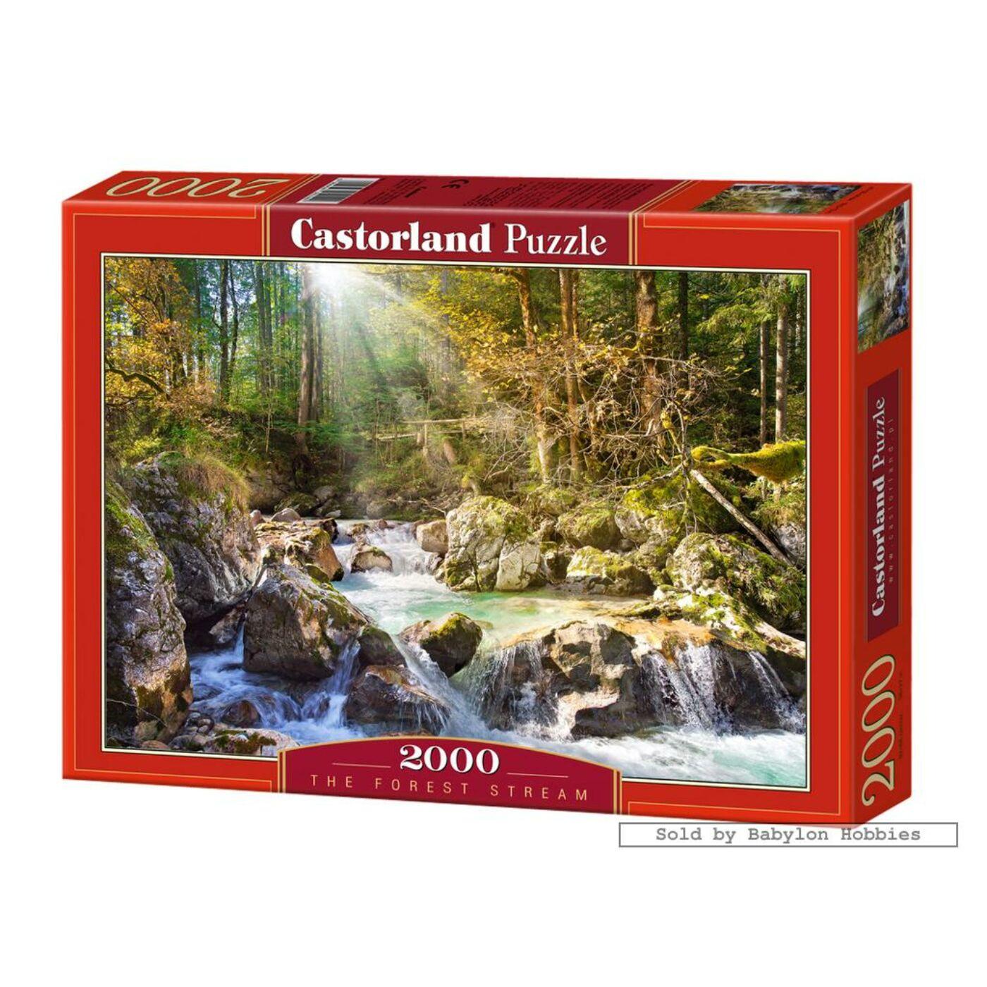 2000 db-os puzzle-Erdei patak