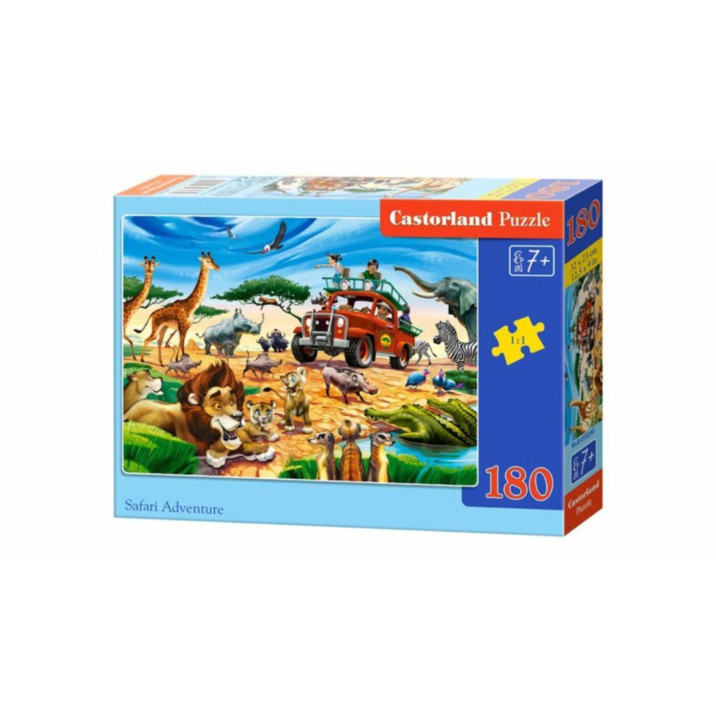 180 db-os Castorland puzzle - Szafari kaland