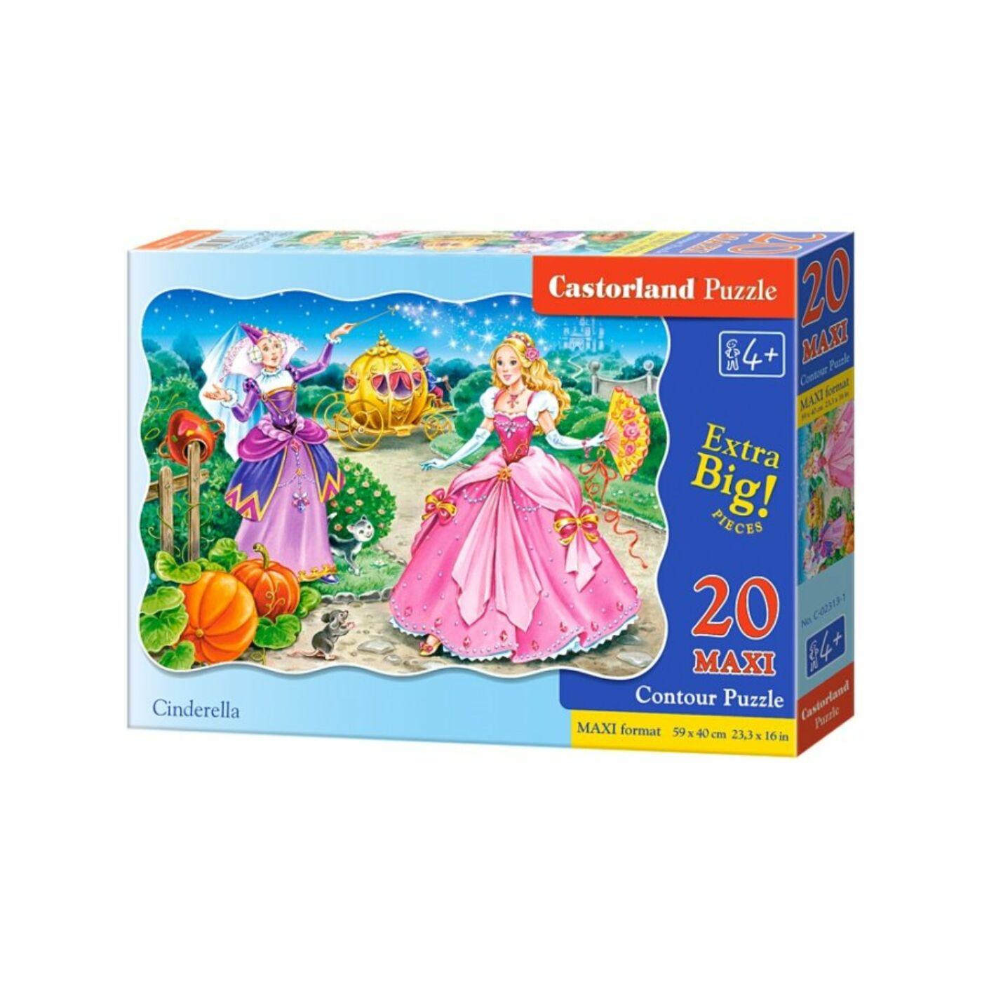 20 db-os puzzle – Hamupipőke