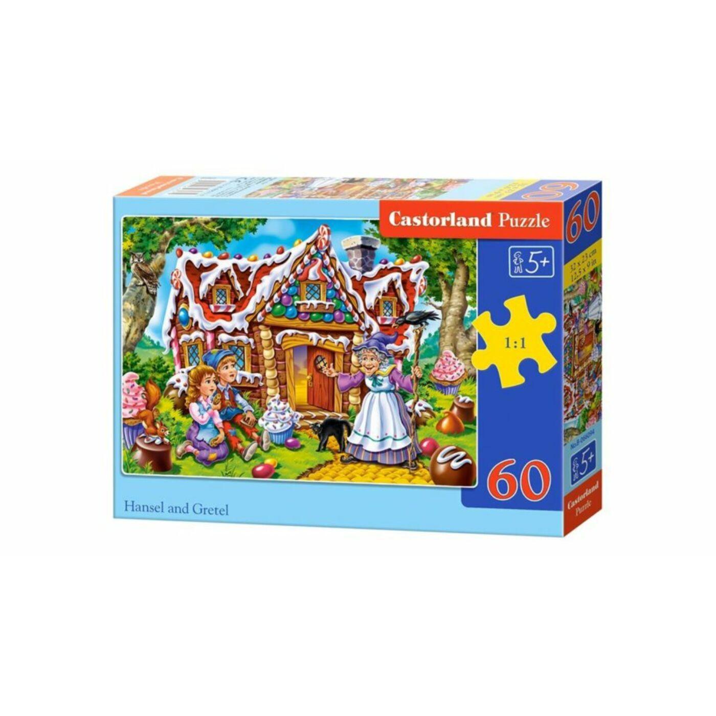 60 db-os Puzzle - Jancsi és Juliska