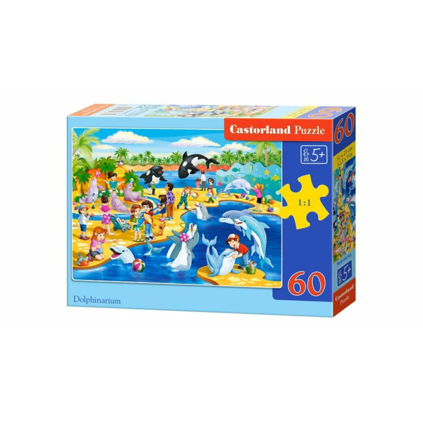 60 db-os Puzzle - Delfinárium