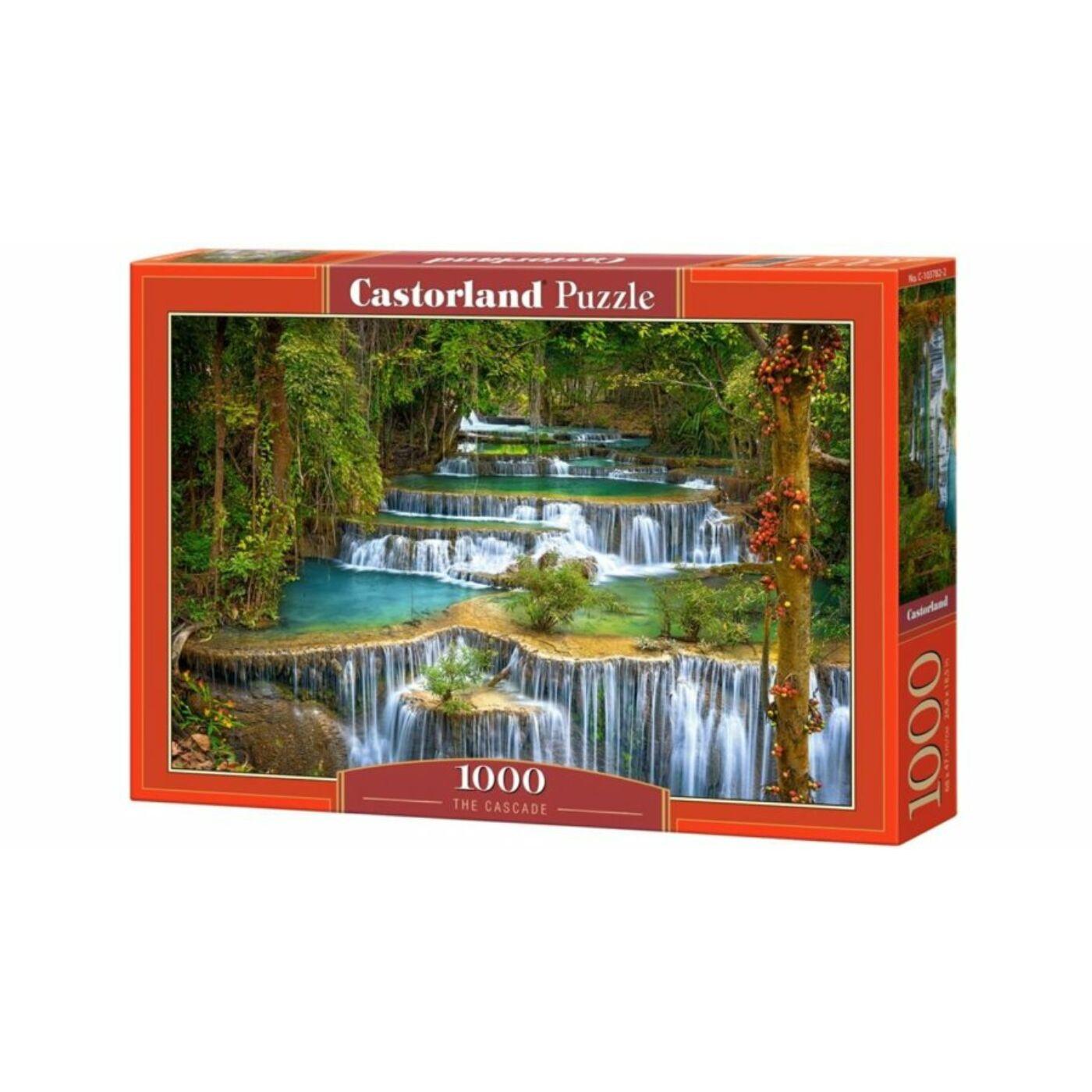 1000 db-os Castorland Puzzle - Vízesés
