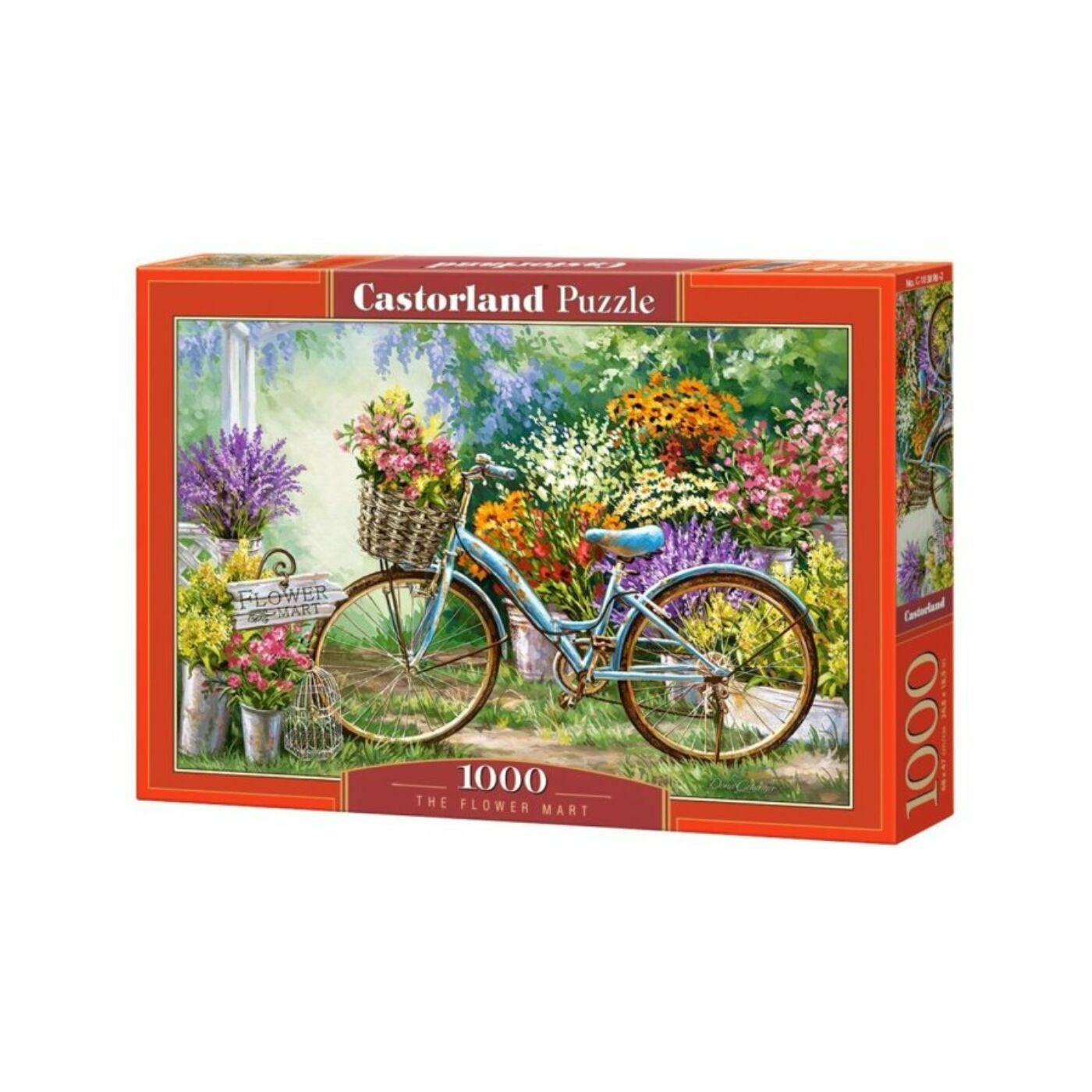1000 db-os Castorland Puzzle - Virágpiac