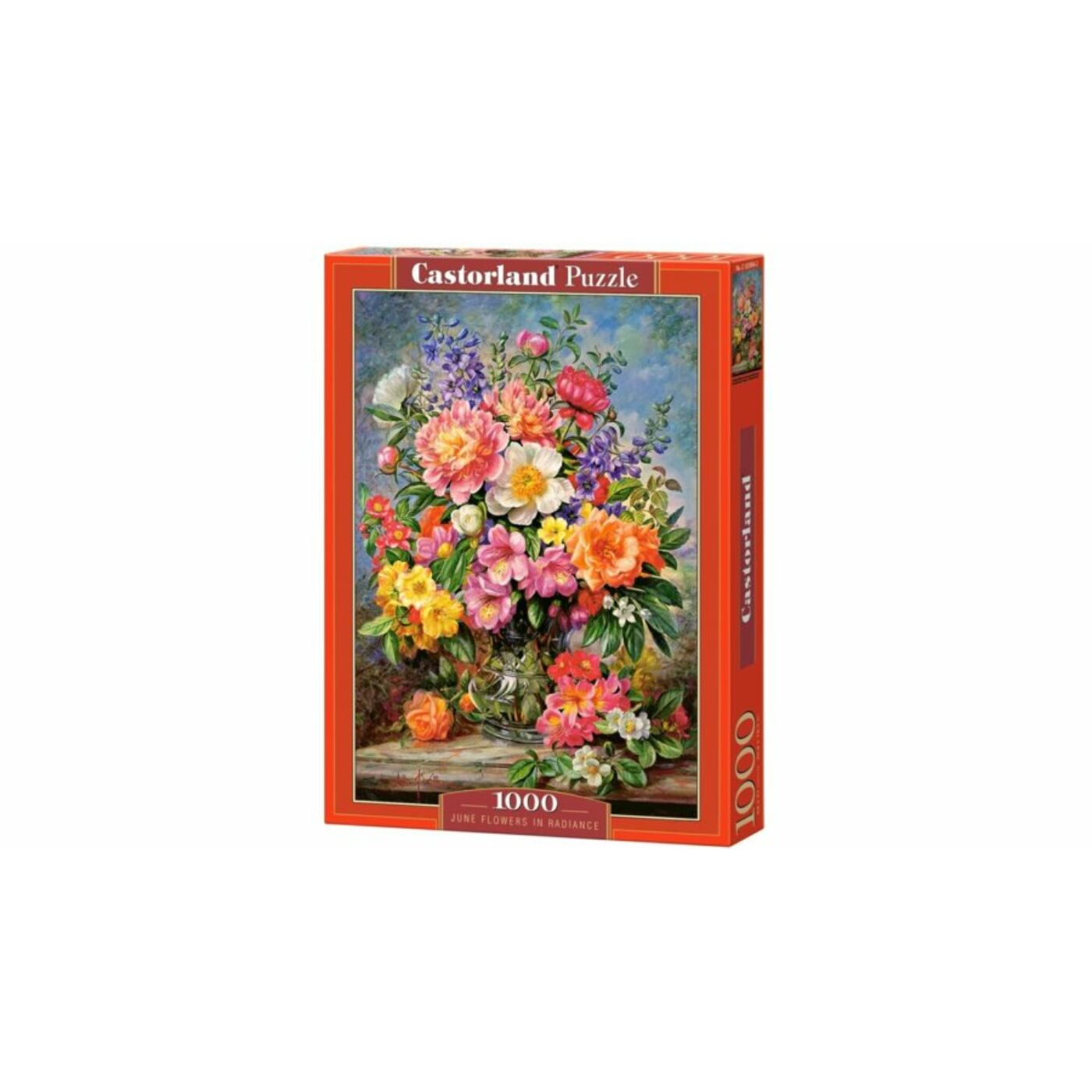 1000 db-os Castorland Puzzle - Júniusi virágok