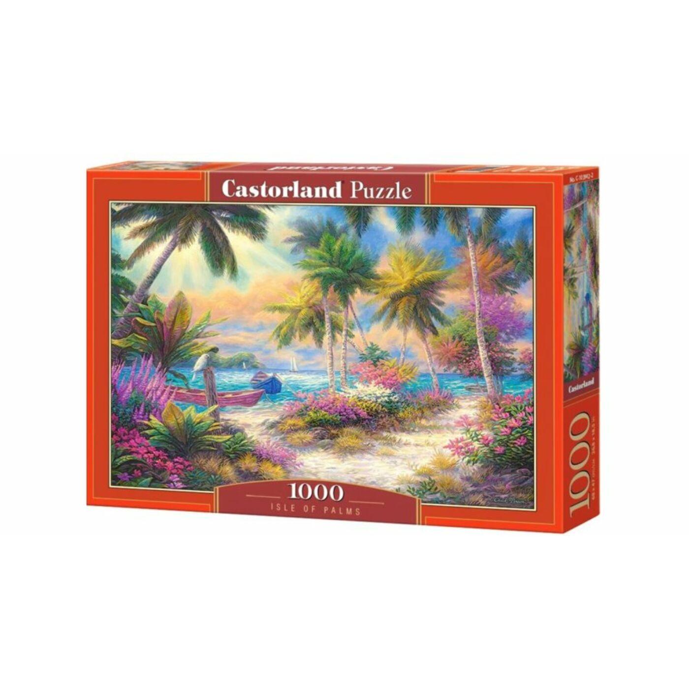 1000 db-os Castorland Puzzle - Pálmák szigete