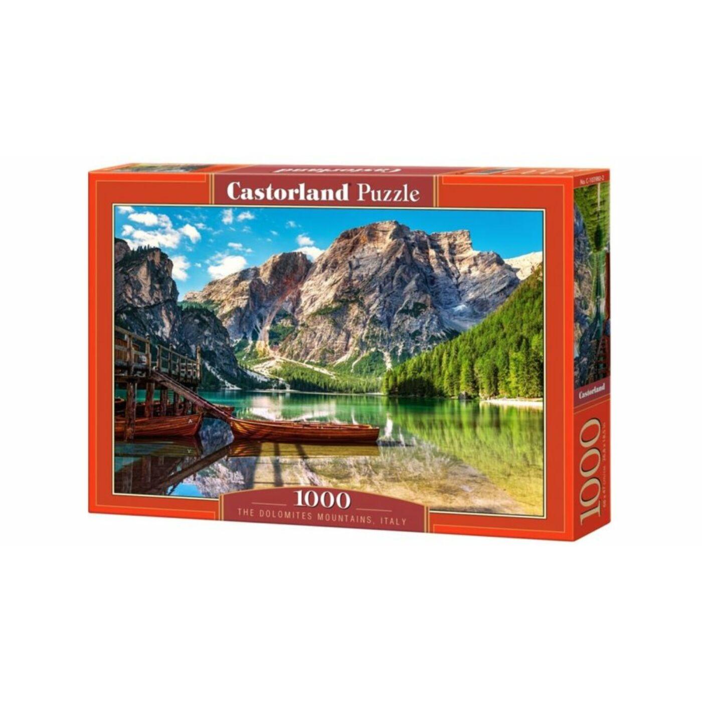 1000 db-os Castorland Puzzle - Dolomitok, Olaszország