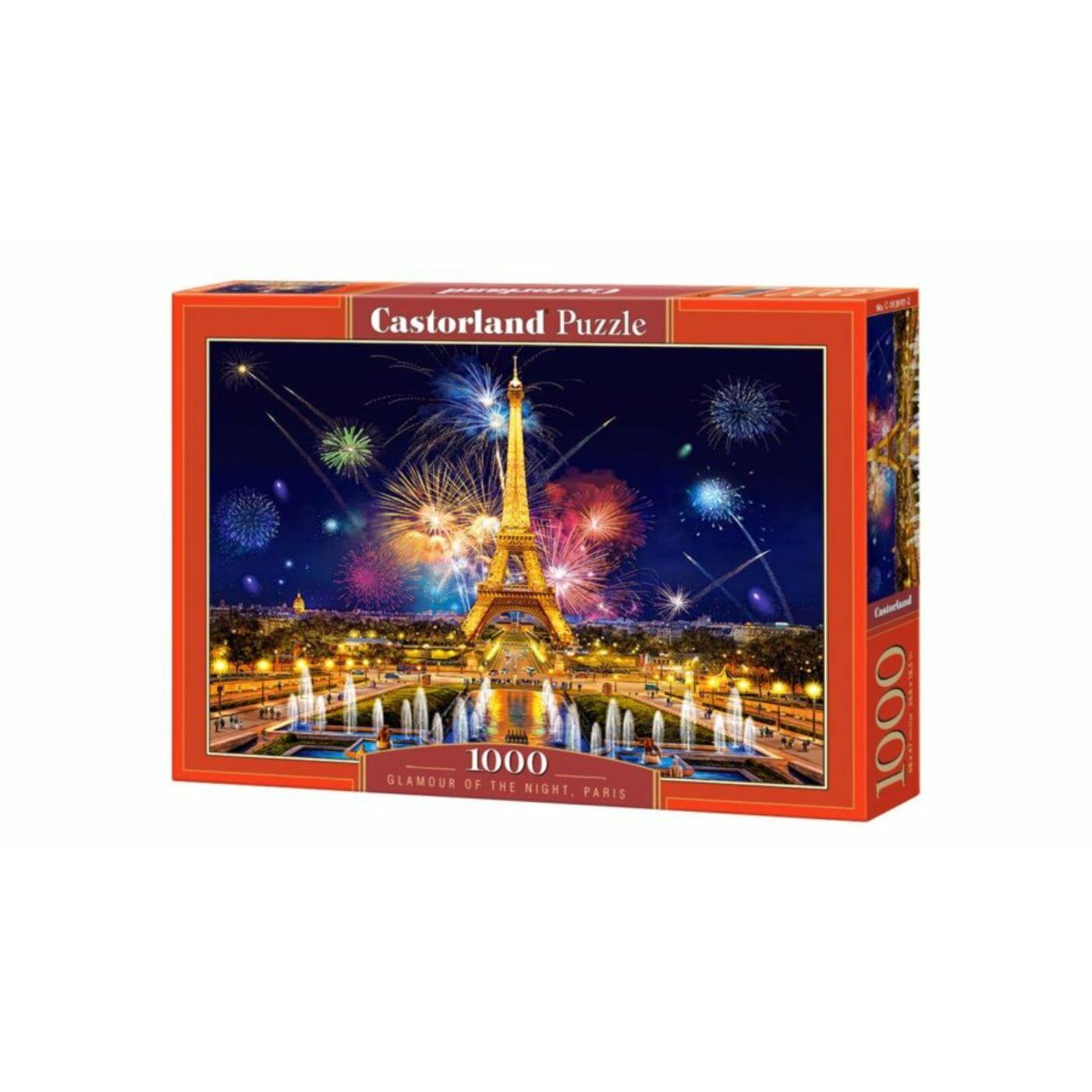 1000 db-os Castorland Puzzle - Párizsi éjszaka