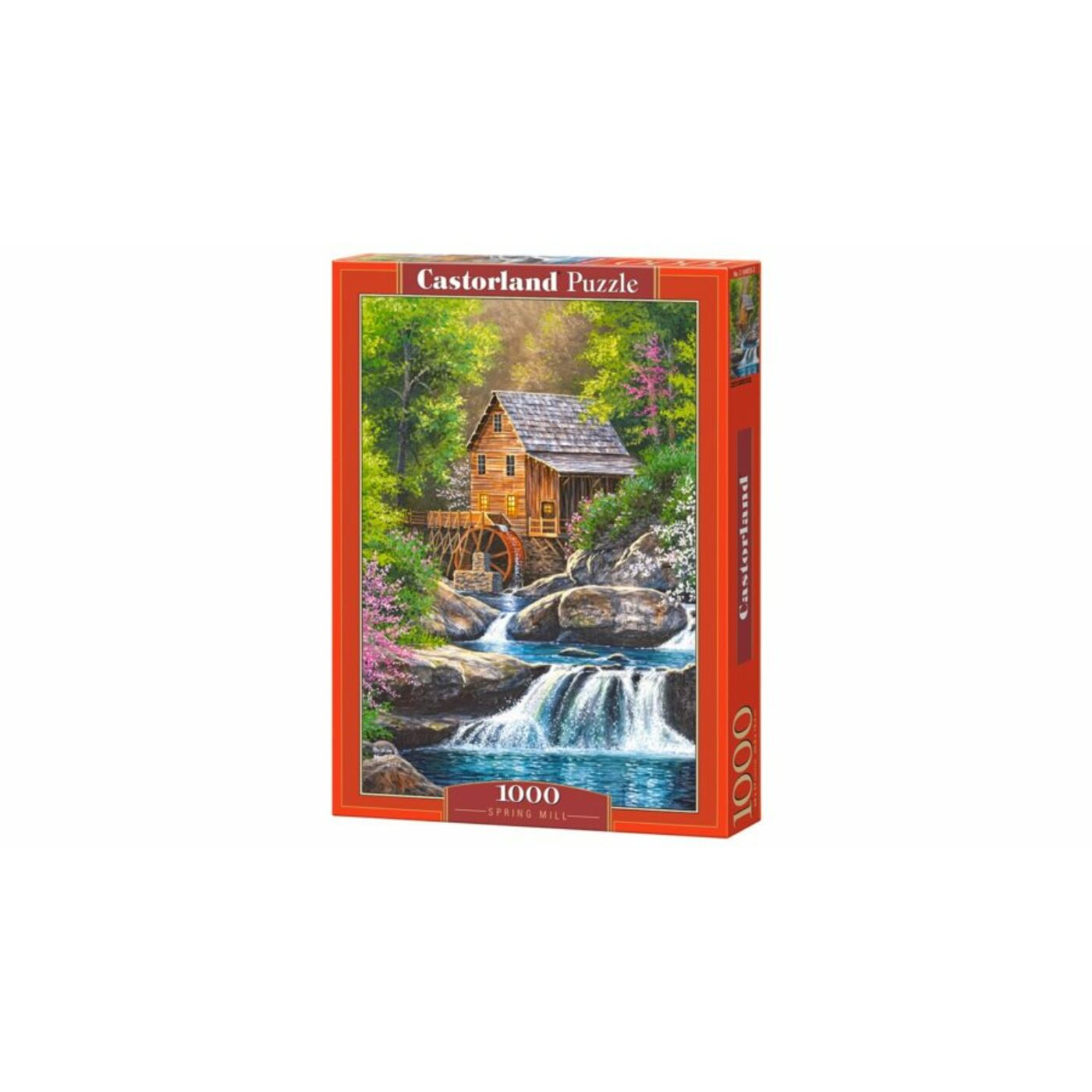 1000 db-os Castorland Puzzle - Tavaszi malom