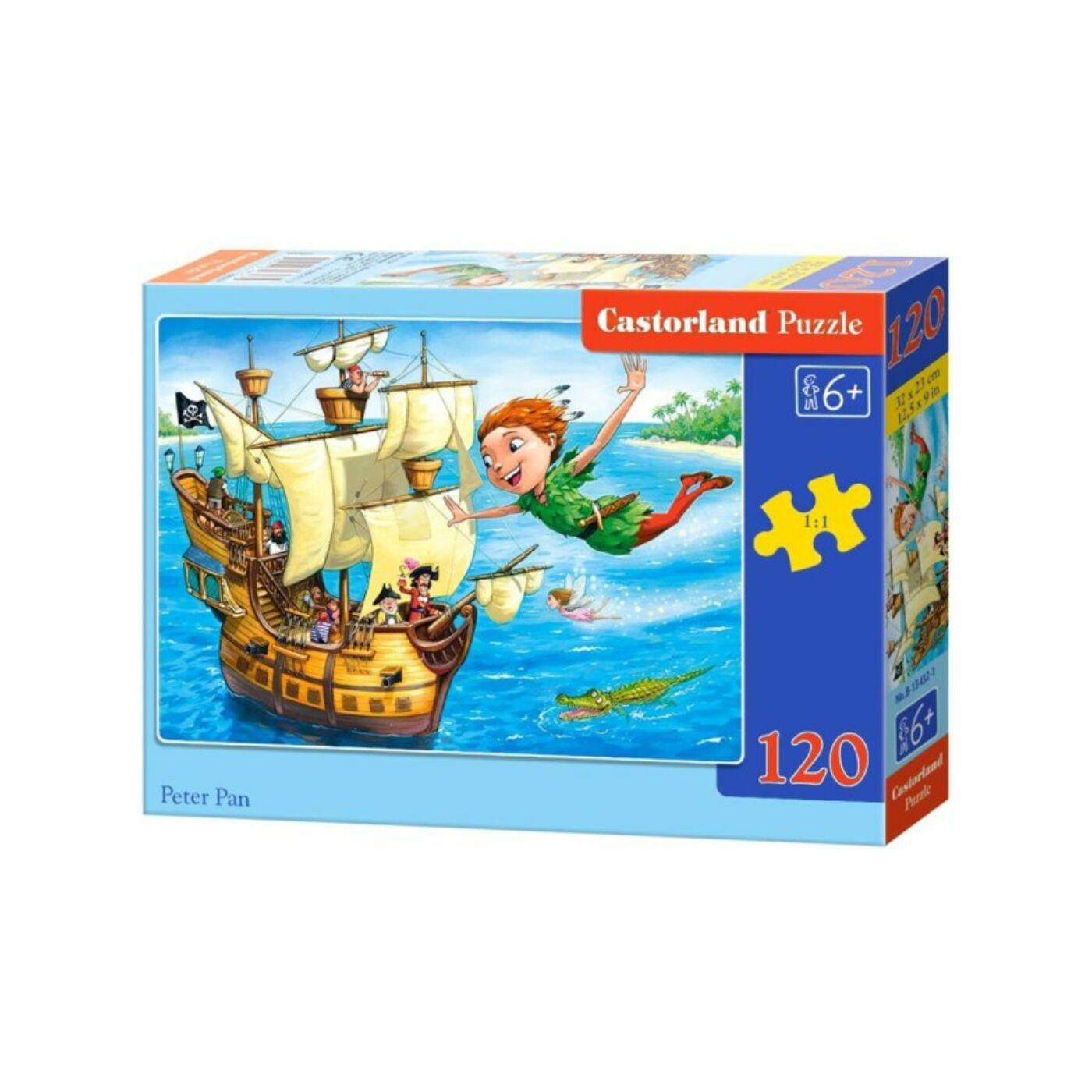 120 db-os Castorland puzzle - Pán Péter