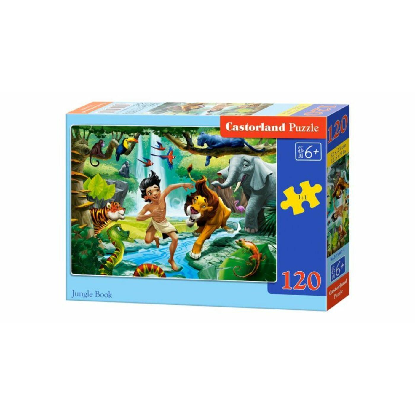 120 db-os Castorland puzzle - A dzsungel könyve