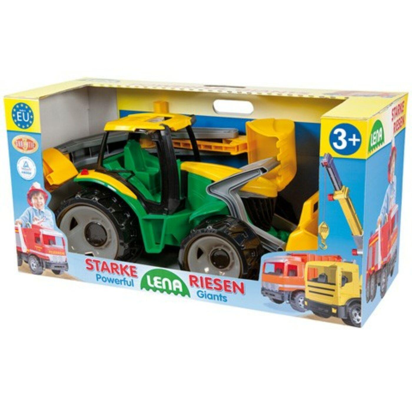 Lena traktor tolótalppal-markolóval