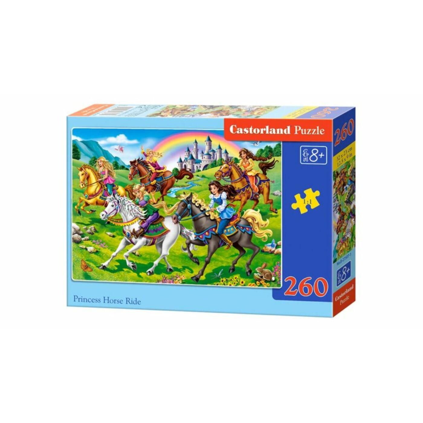 260 db-os puzzle - Hercegnők lovon