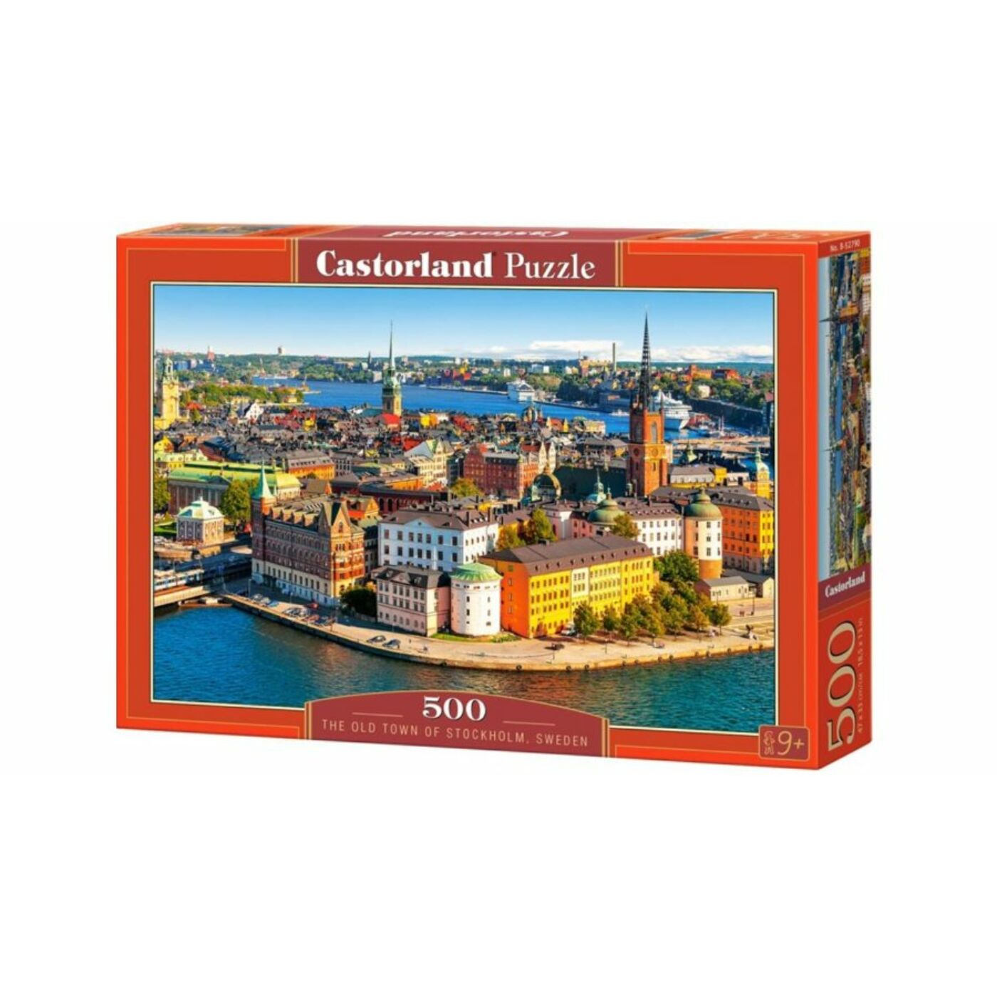 500 db-os puzzle - Óváros Stockholmban, Svédország