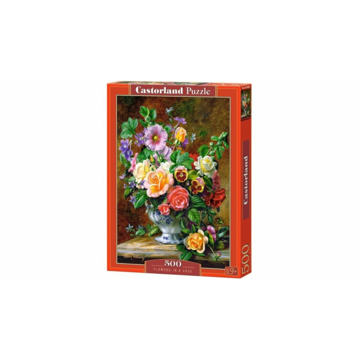 500 db-os puzzle - Virágok vázában