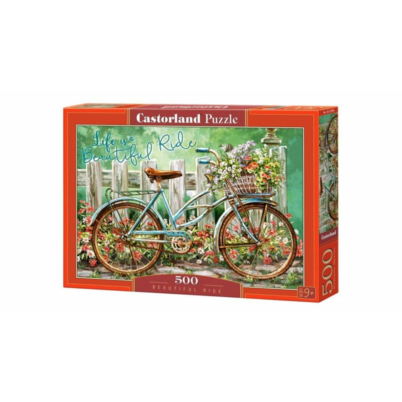 500 db-os puzzle - Csodás utazás