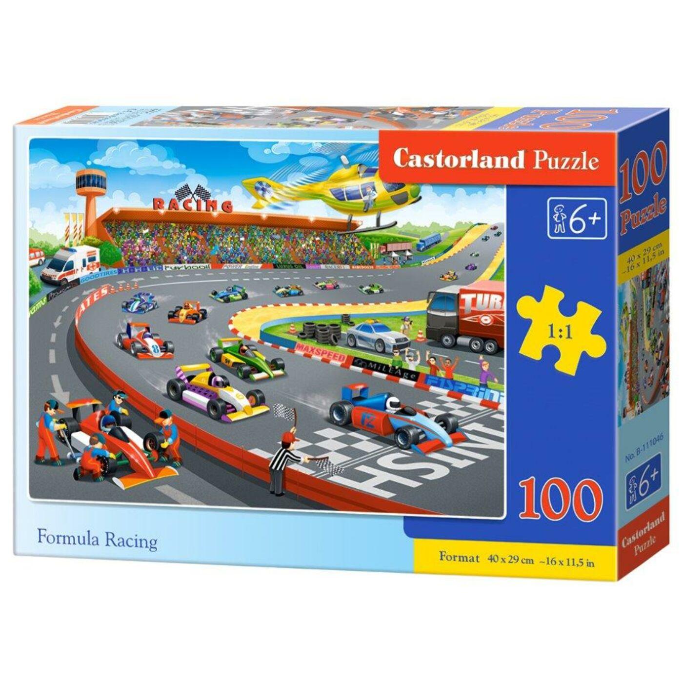 100 db-os Castorland puzzle - Forma 1