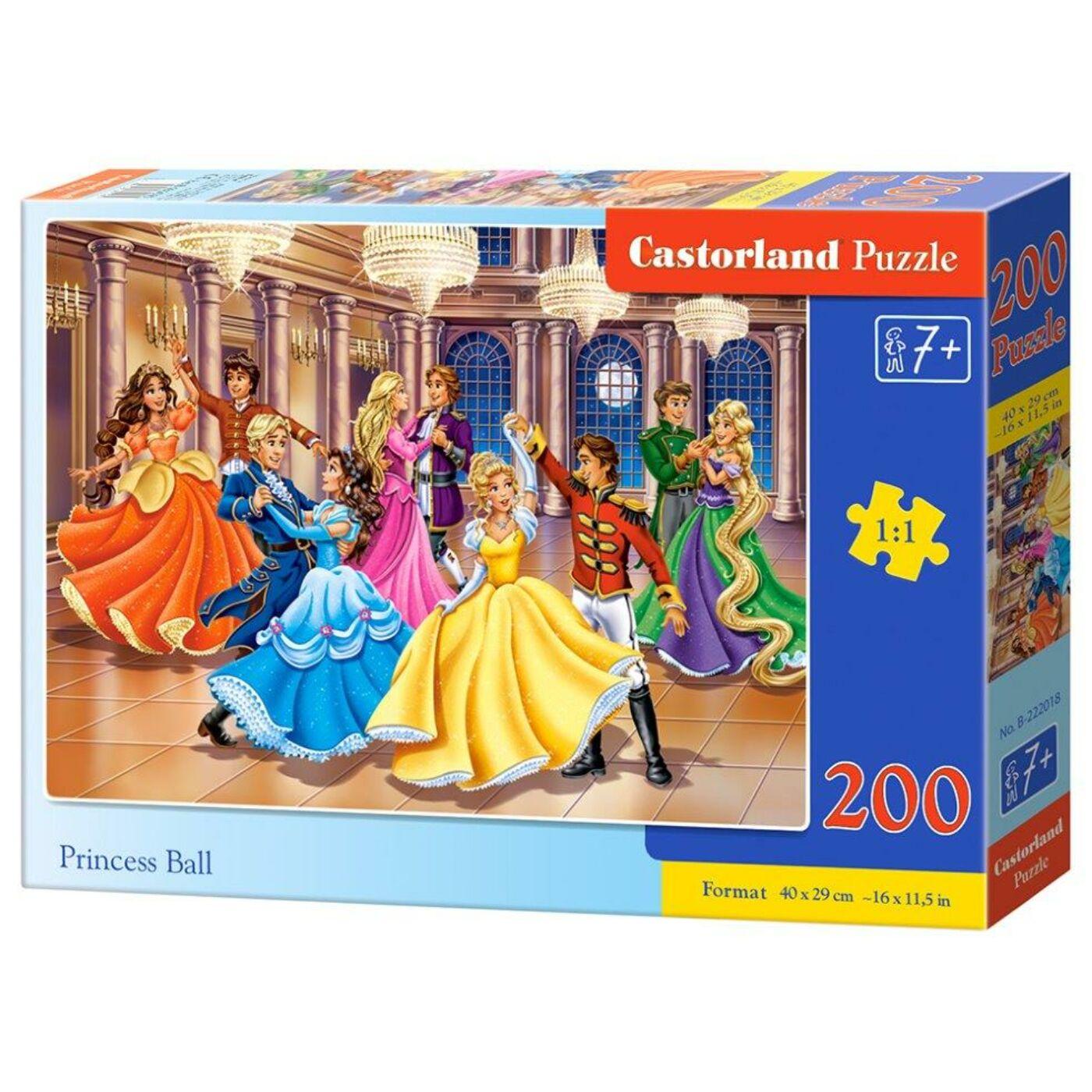 200 db-os puzzle - Hercegnő bál
