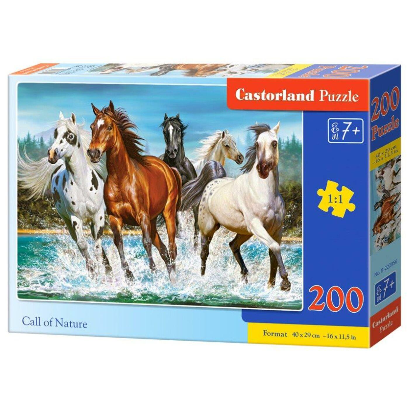 200 db-os puzzle - Hív a természet