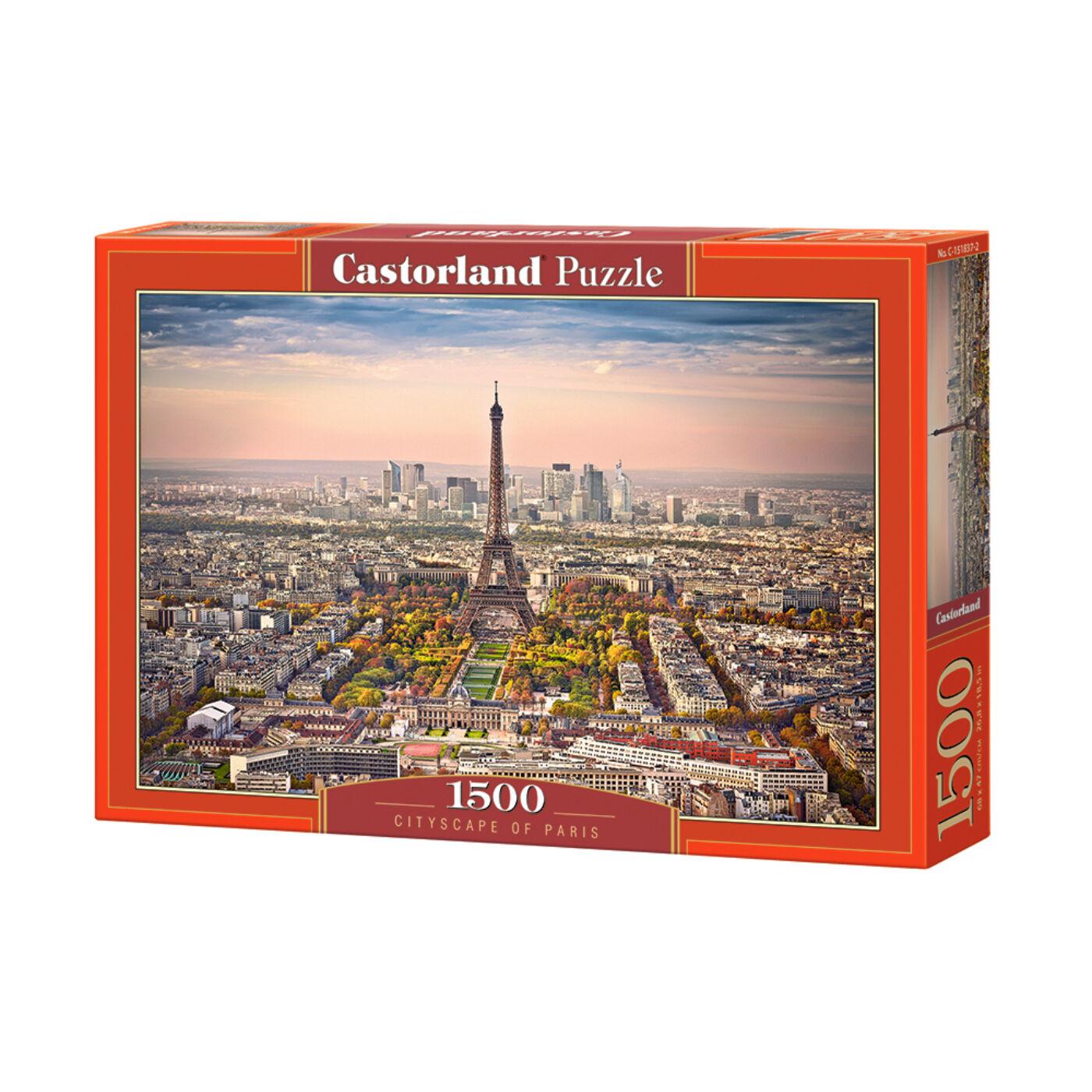 1500 db-os kirakó - Párizsi városkép