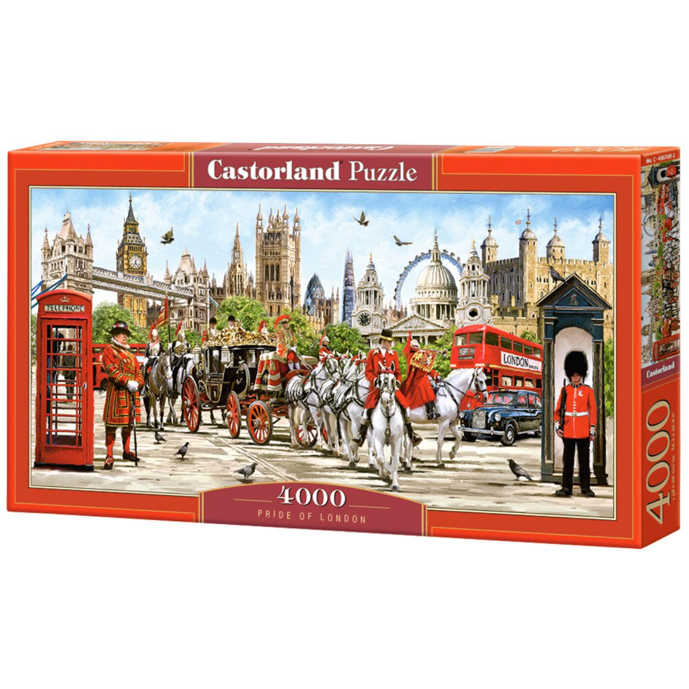 4000 db-os puzzle - London büszkesége