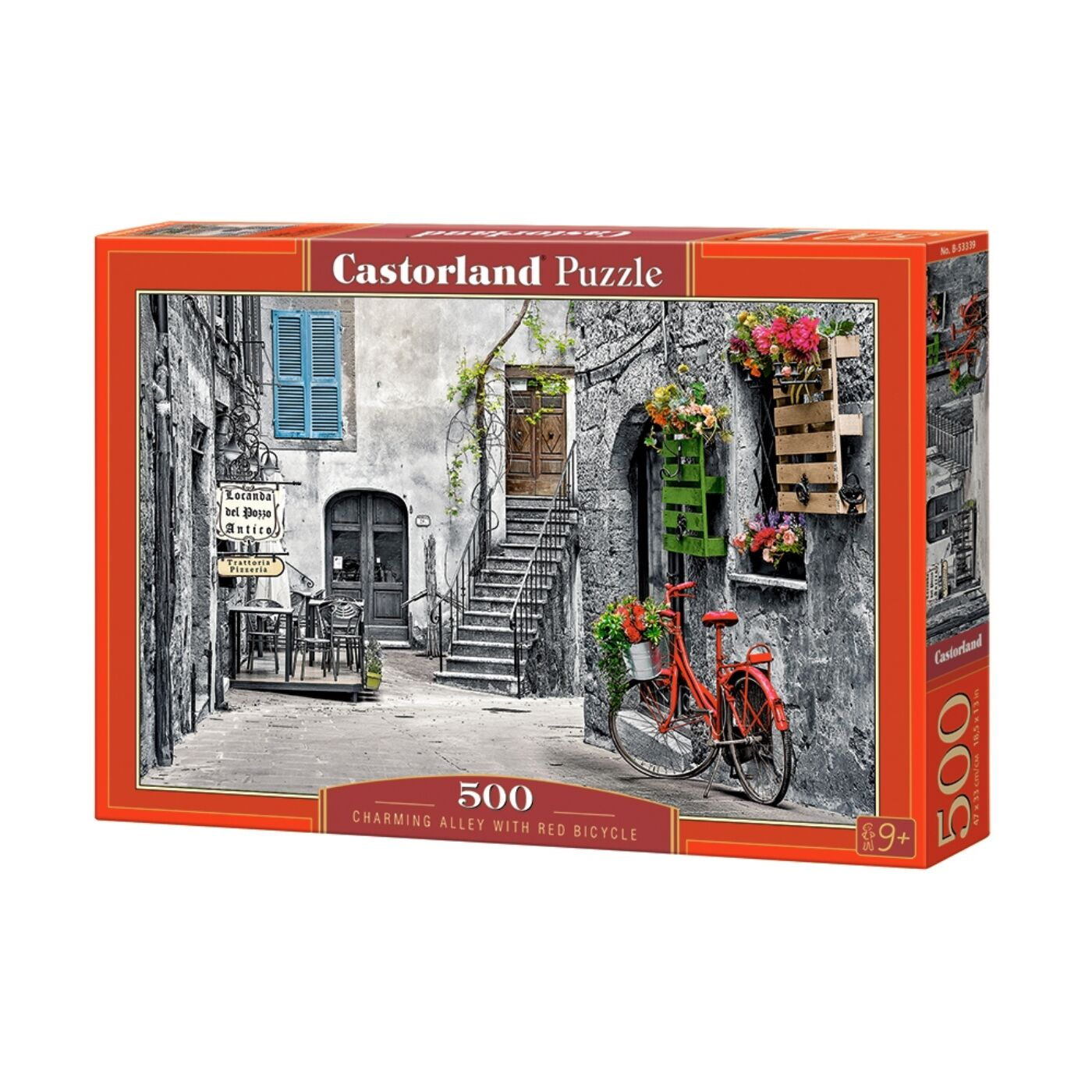 500 db-os puzzle - Bájos utcakép