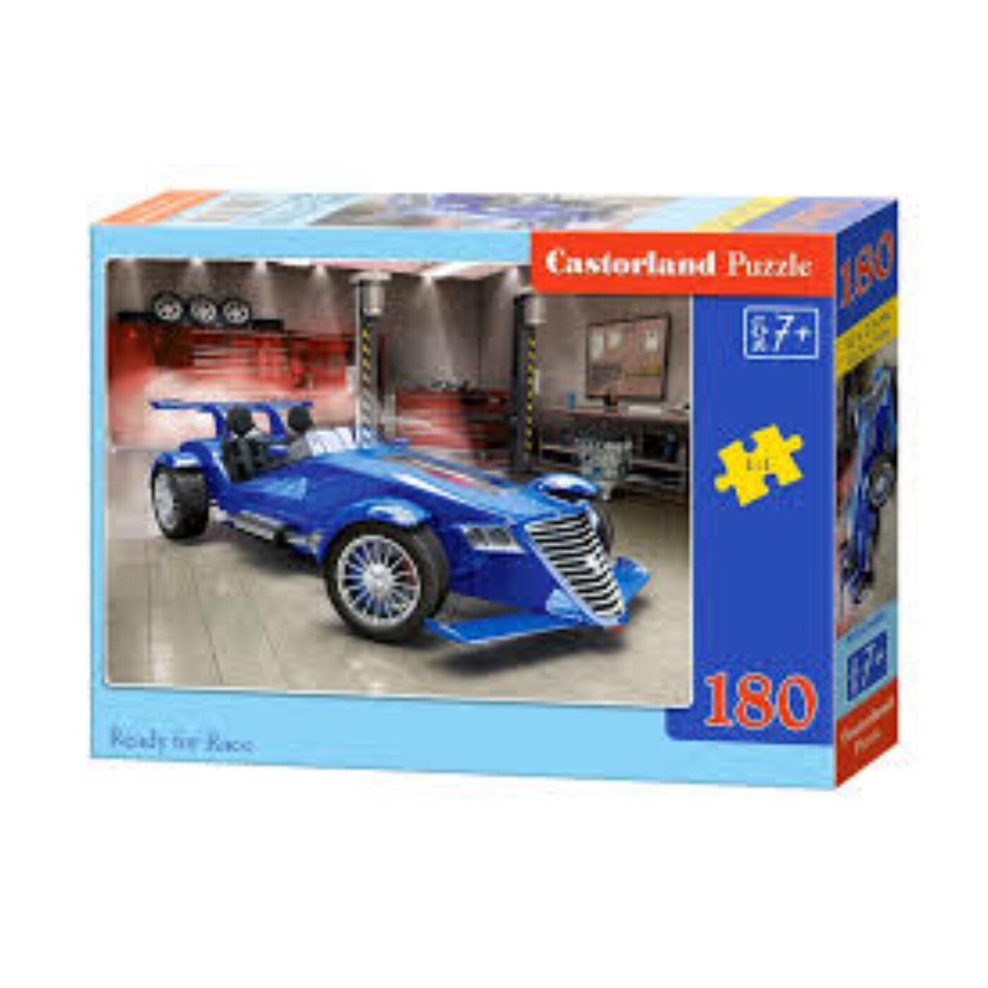 180 db-os Castorland puzzle - Startra készen