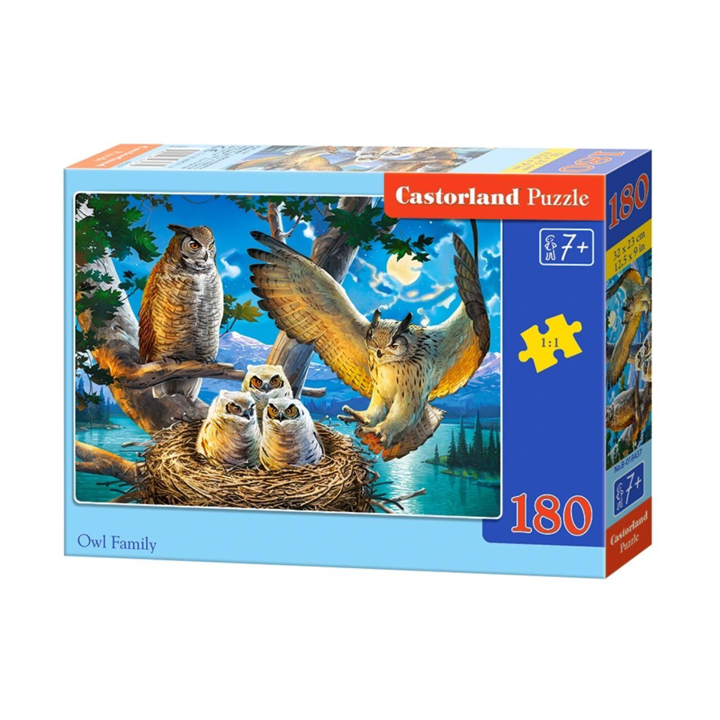 180 db-os puzzle - Bagoly család
