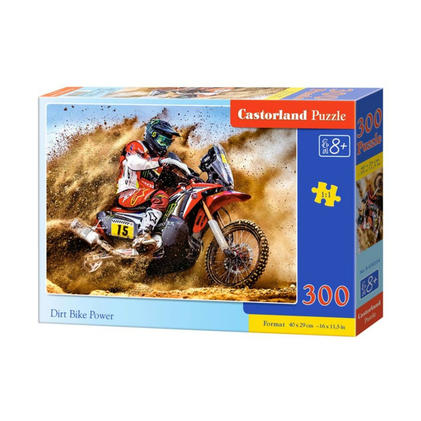 300 db-os kirakó - Motorverseny