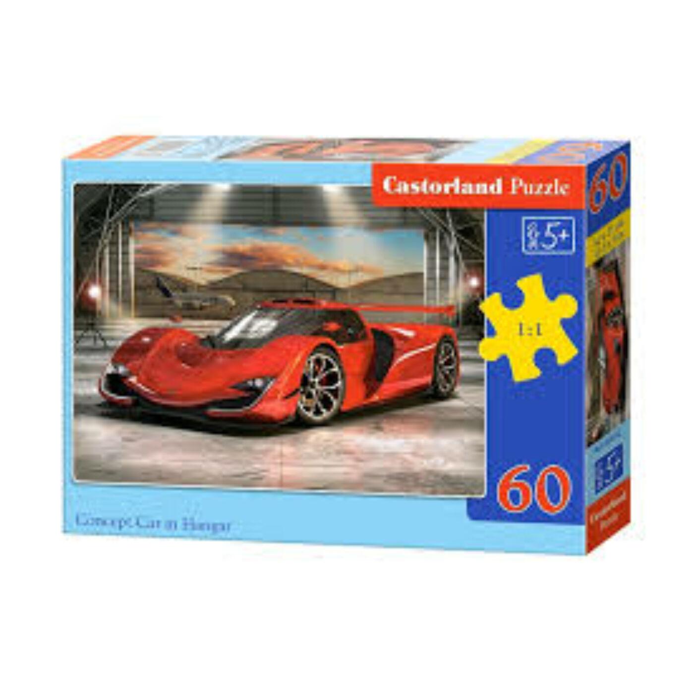 60 db-os Puzzle - Versenyautó a garázsban
