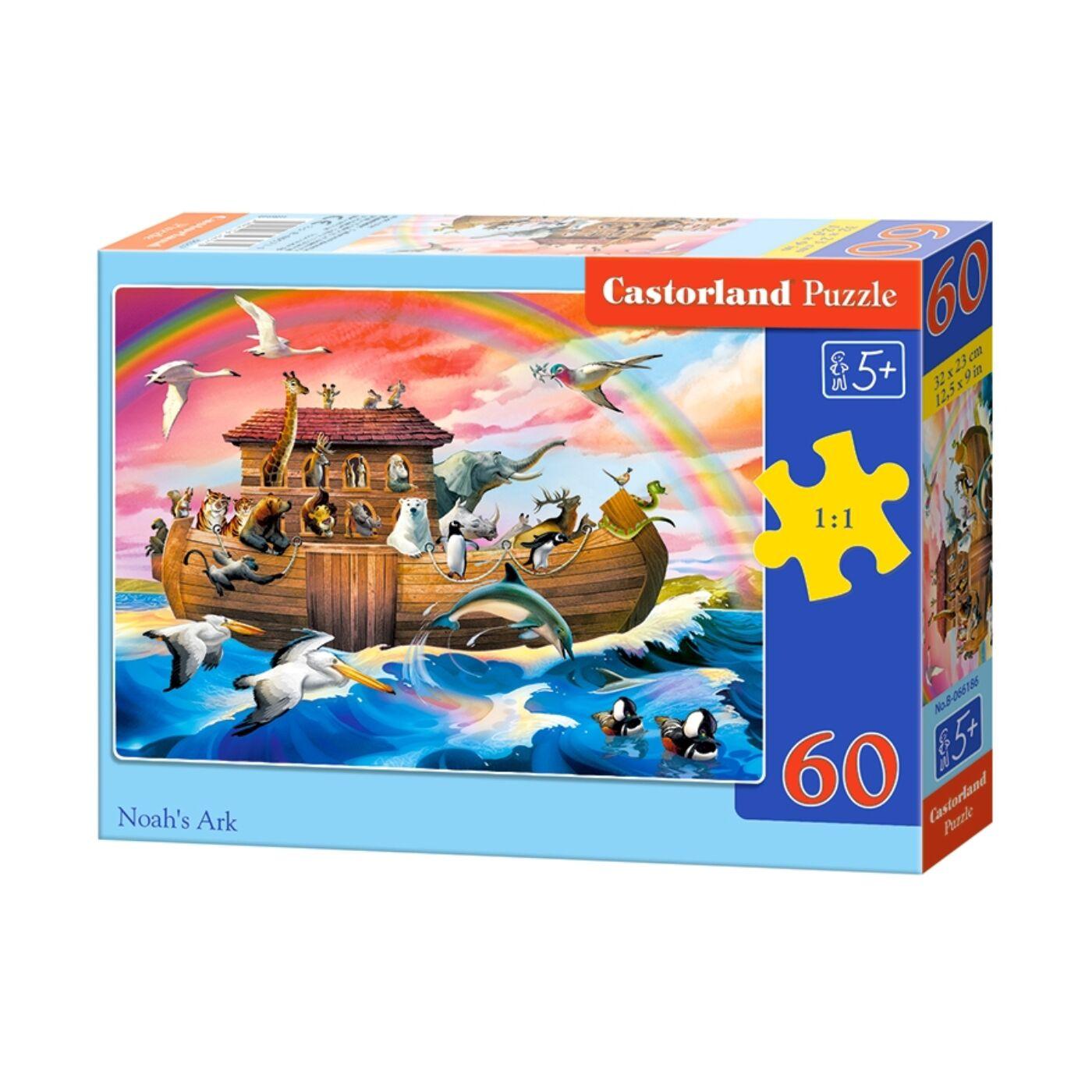 60 db-os Puzzle - Noé bárkája