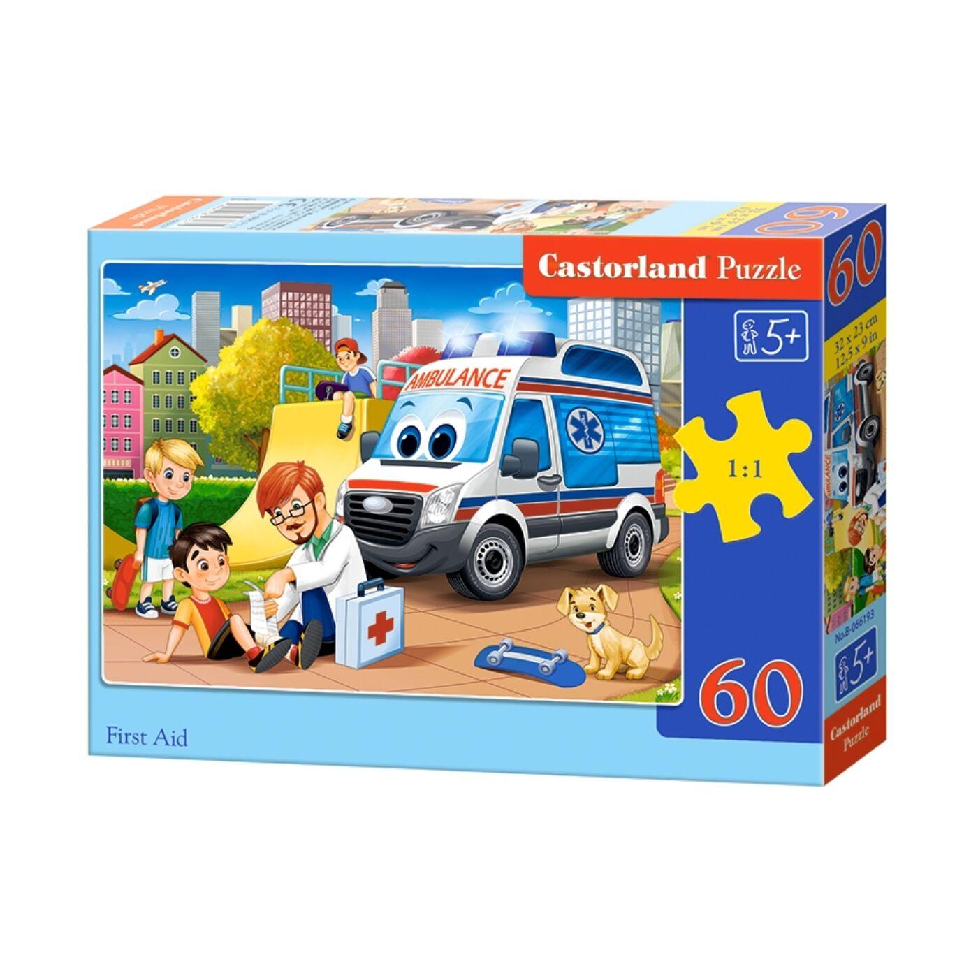60 db-os Puzzle - Elsősegély