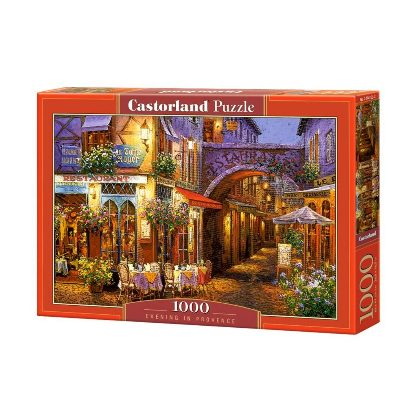 1000 db-os Castorland Puzzle - Éjszaka Provence