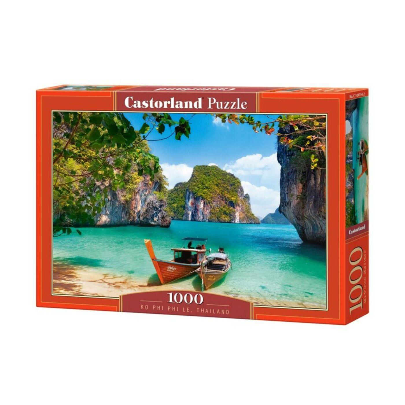 1000 db-os Castorland Puzzle - Ko Phi Phi Le, Thaiföld