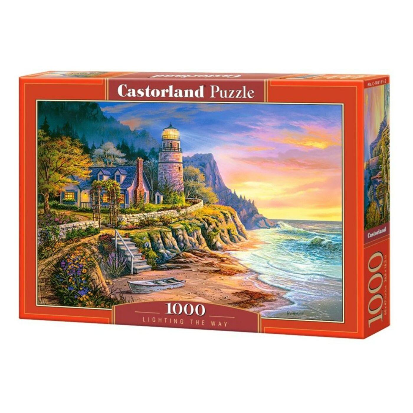 1000 db-os Castorland Puzzle - Világítótorony
