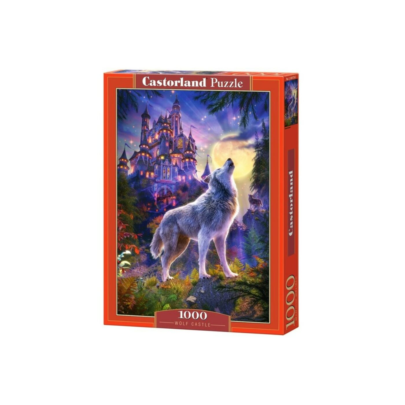 1000 db-os Castorland Puzzle - Farkas kastély