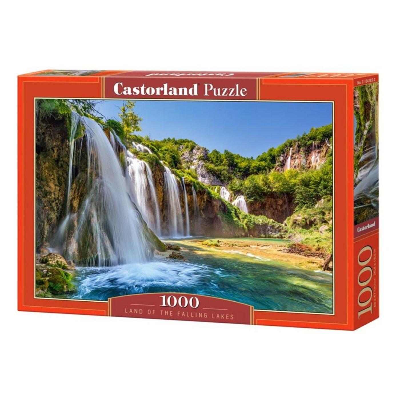 1000 db-os Castorland Puzzle - Vízesések földje