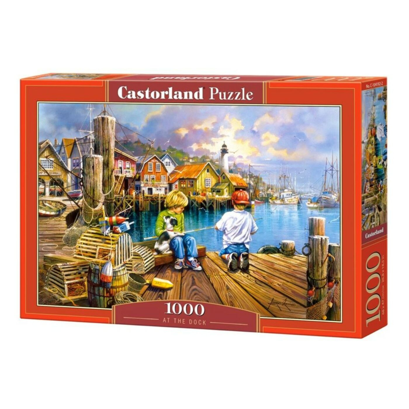 1000 db-os Castorland Puzzle - A dokknál