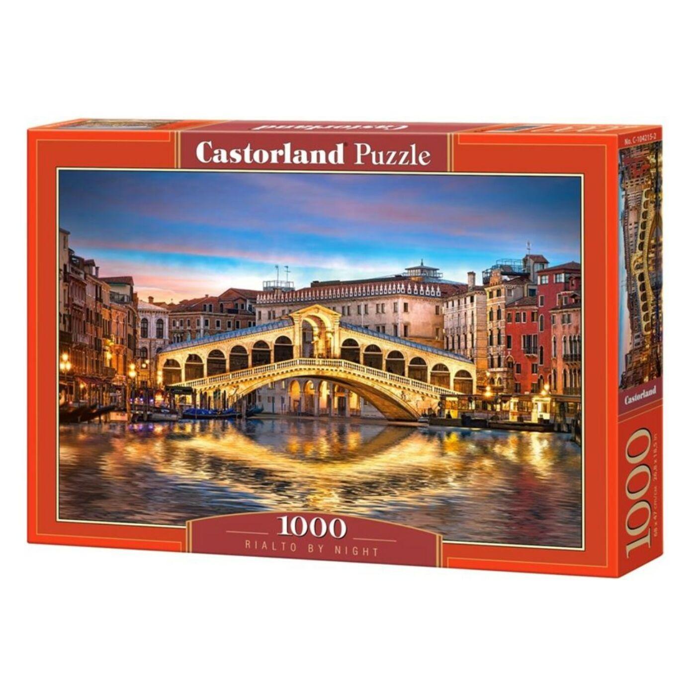 1000 db-os Castorland Puzzle - Rialto éjjel