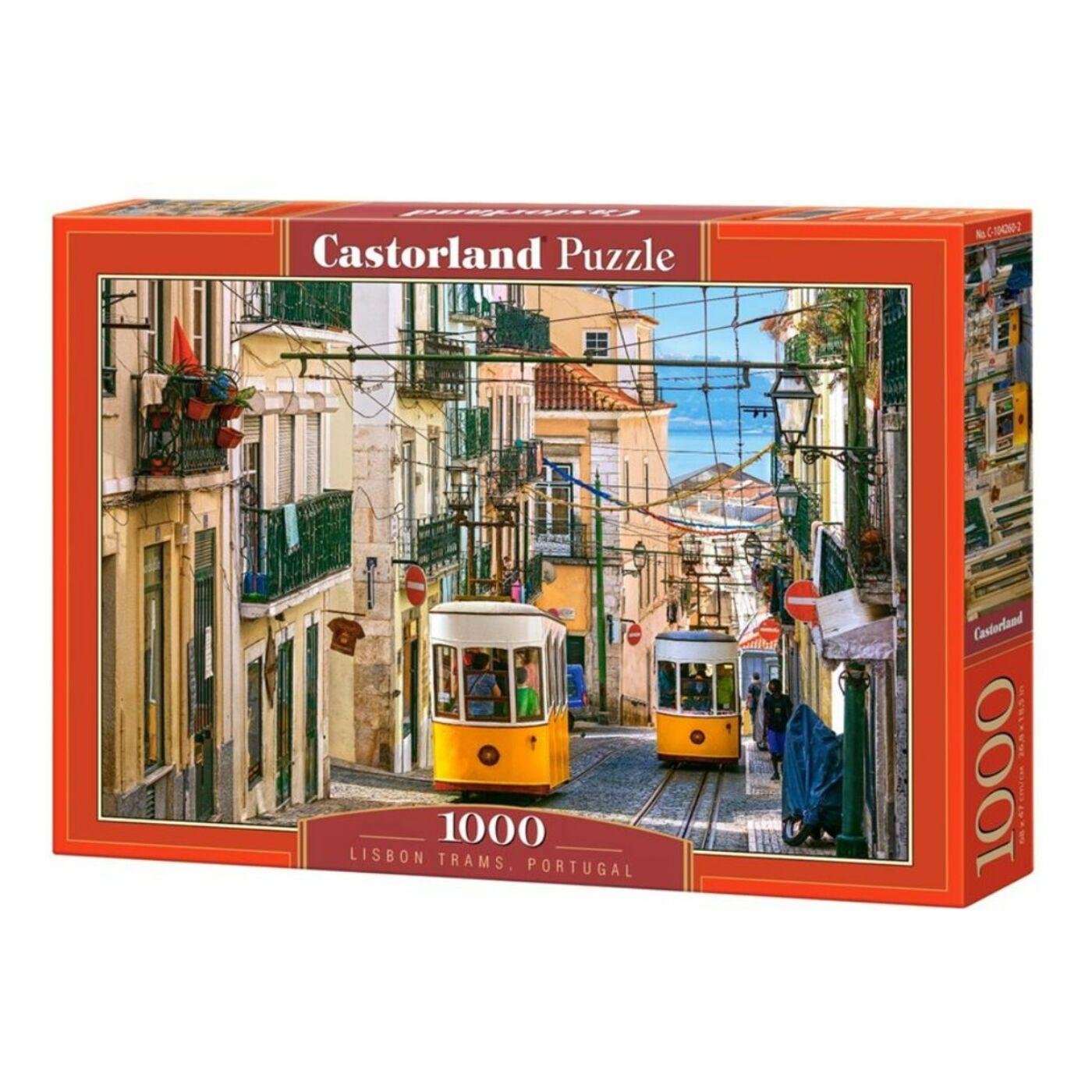 1000 db-os Castorland Puzzle - Lisszabon, Portugália