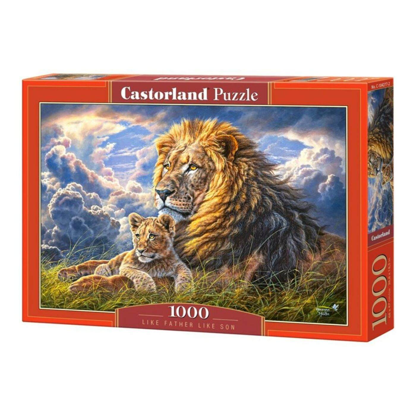 1000 db-os Castorland Puzzle - Apja fia