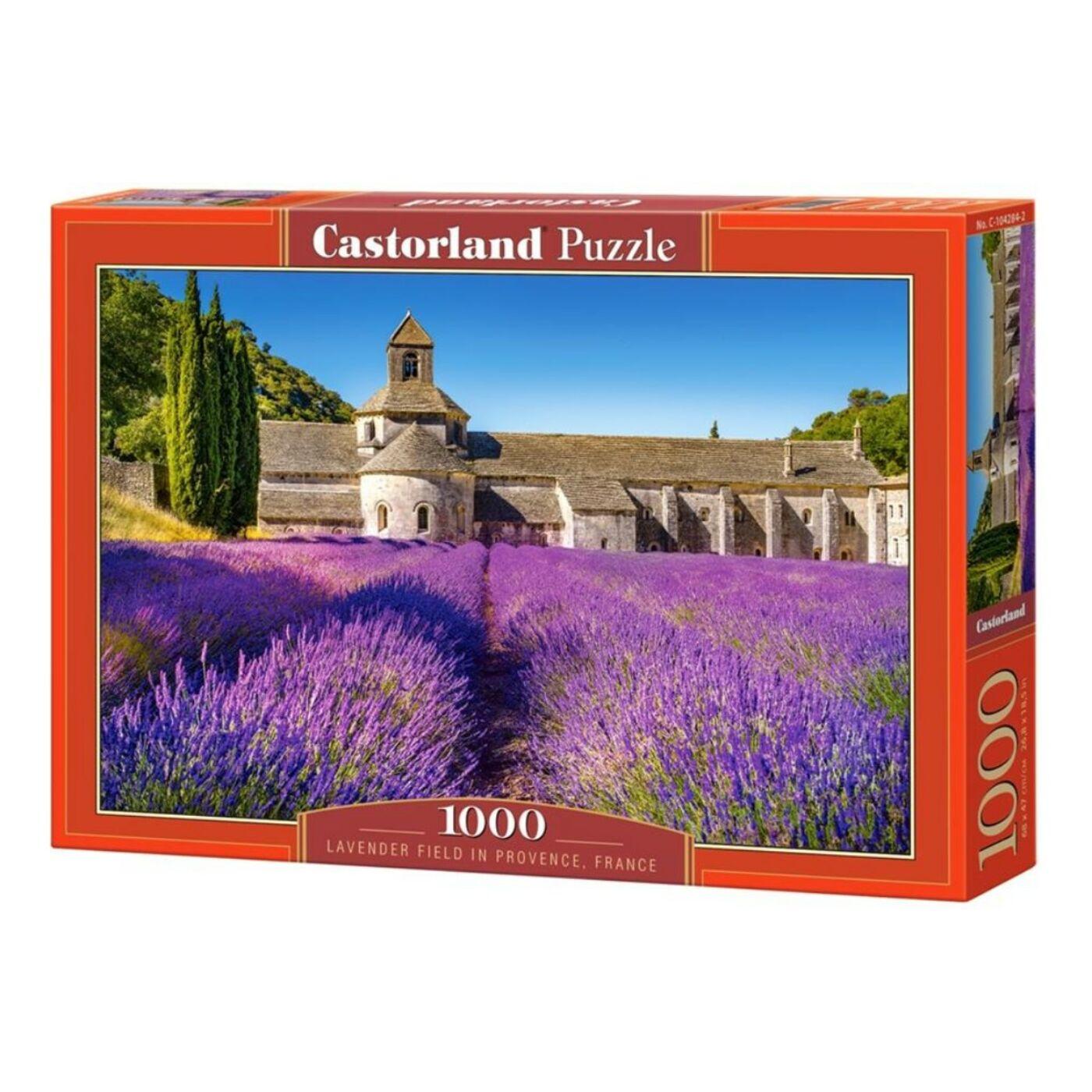 1000 db-os Castorland Puzzle - Levendula föld, Franciaország