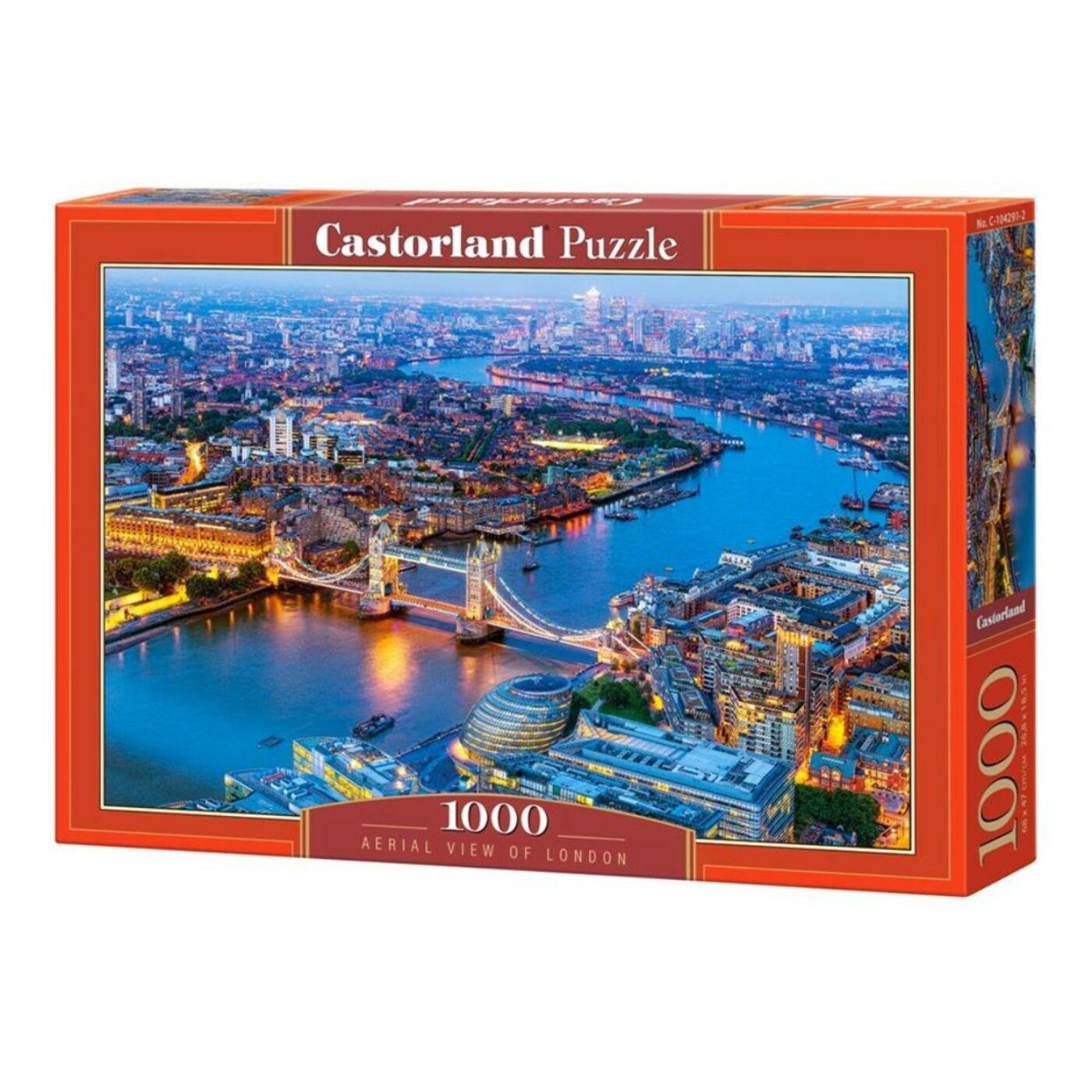 1000 db-os Castorland Puzzle - Londoni fények