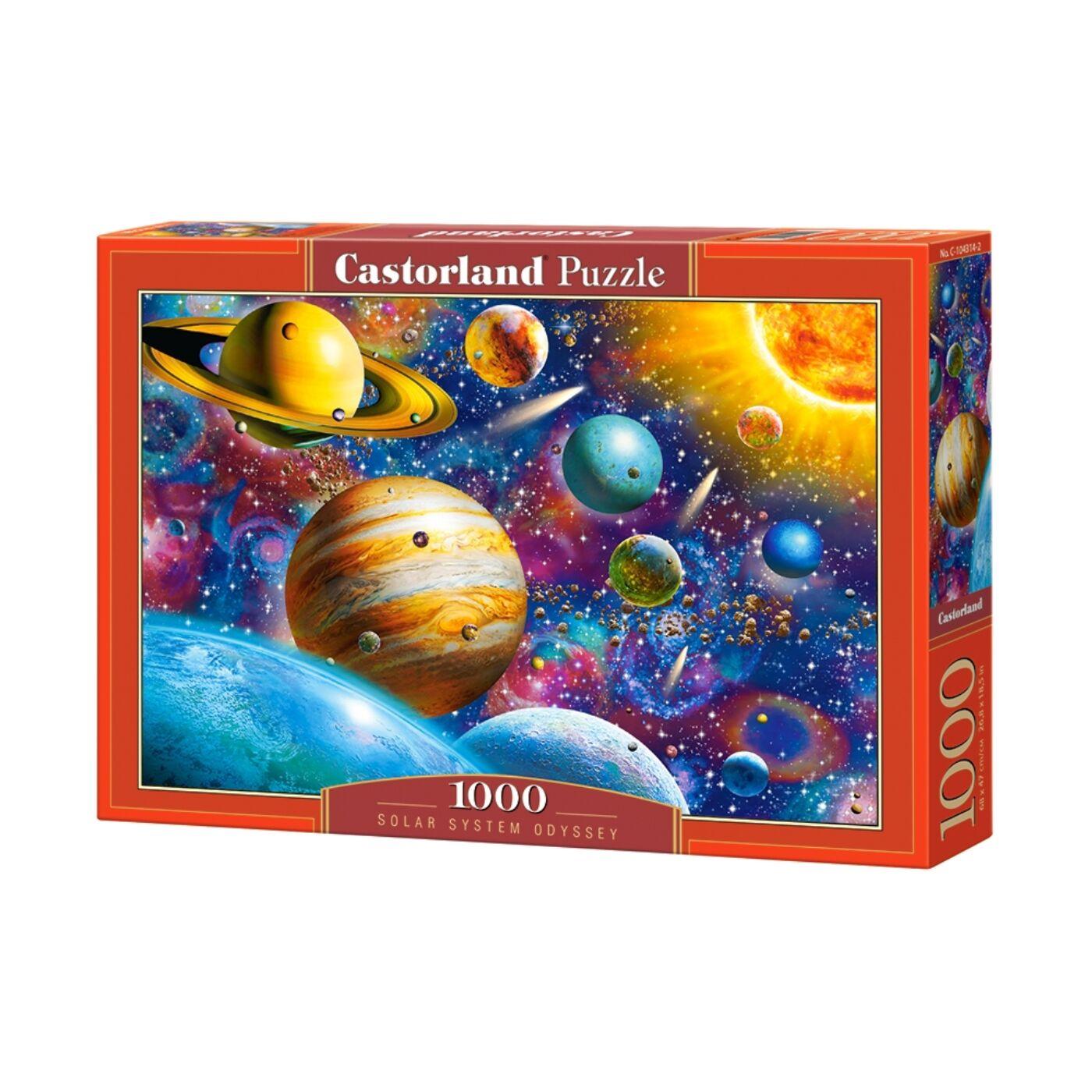 1000 db-os Castorland Puzzle -  Odüsszea naprendszer