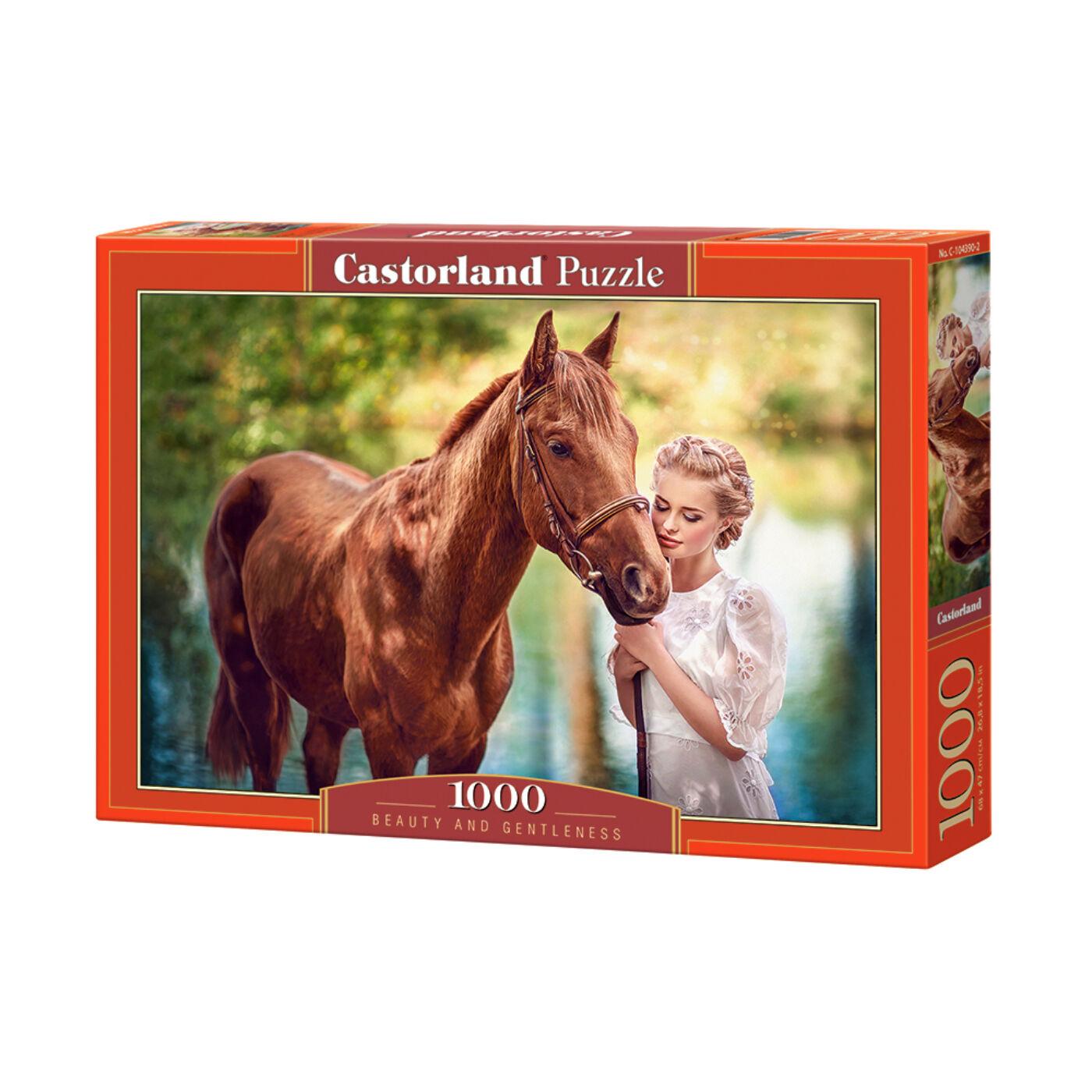 1000 db-os Castorland Puzzle -  Szépség és a gentleman