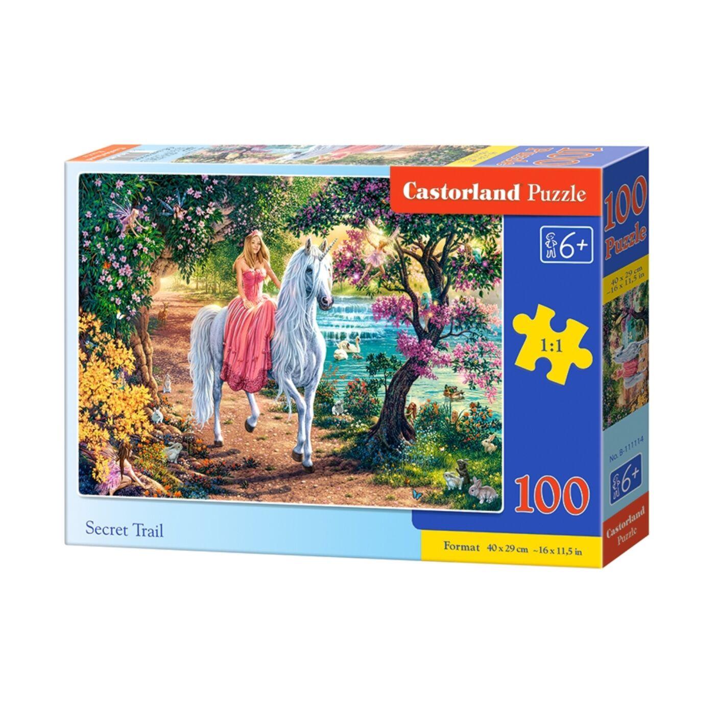 100 db-os Castorland puzzle - Titkos ösvény