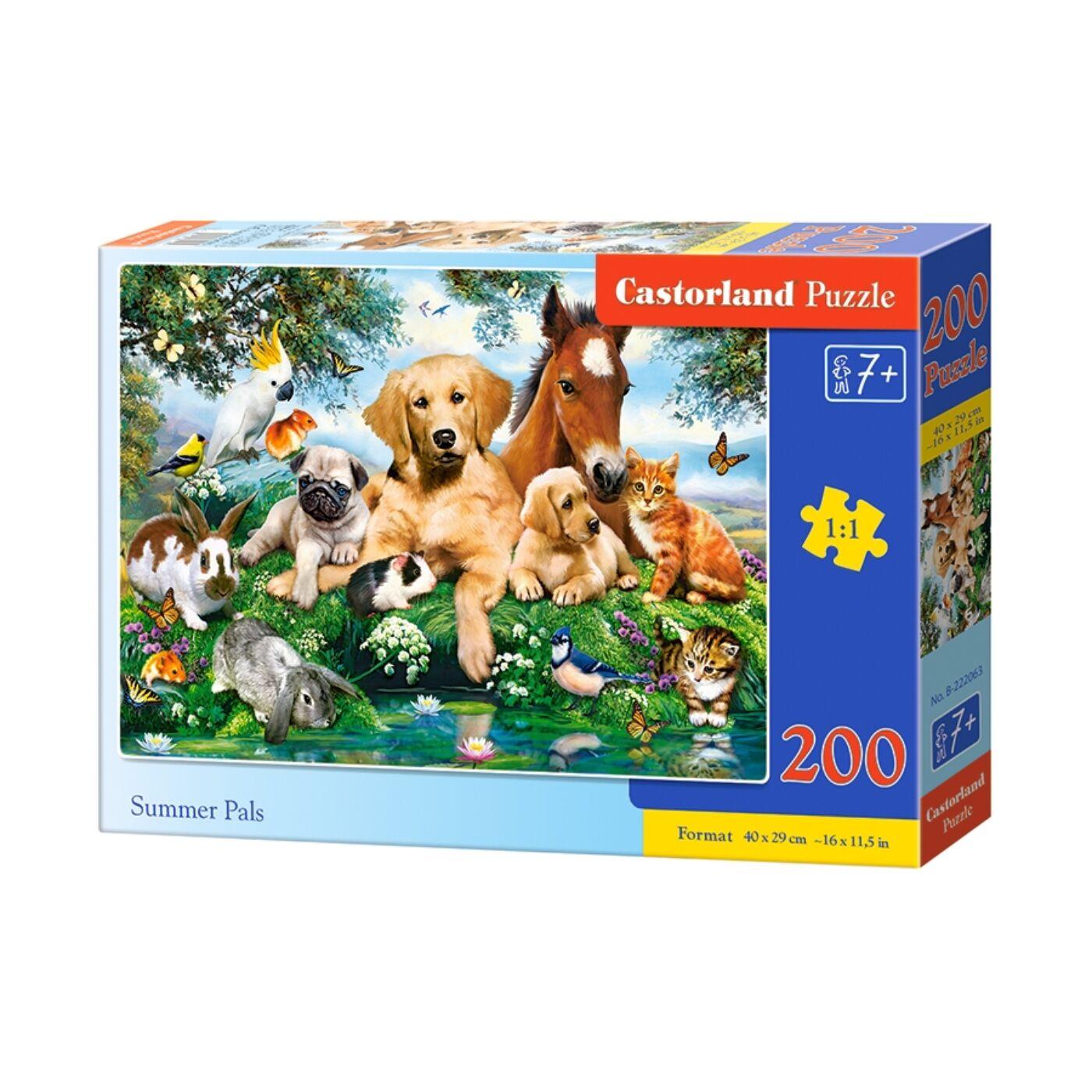 200 db-os puzzle - Nyári barátság